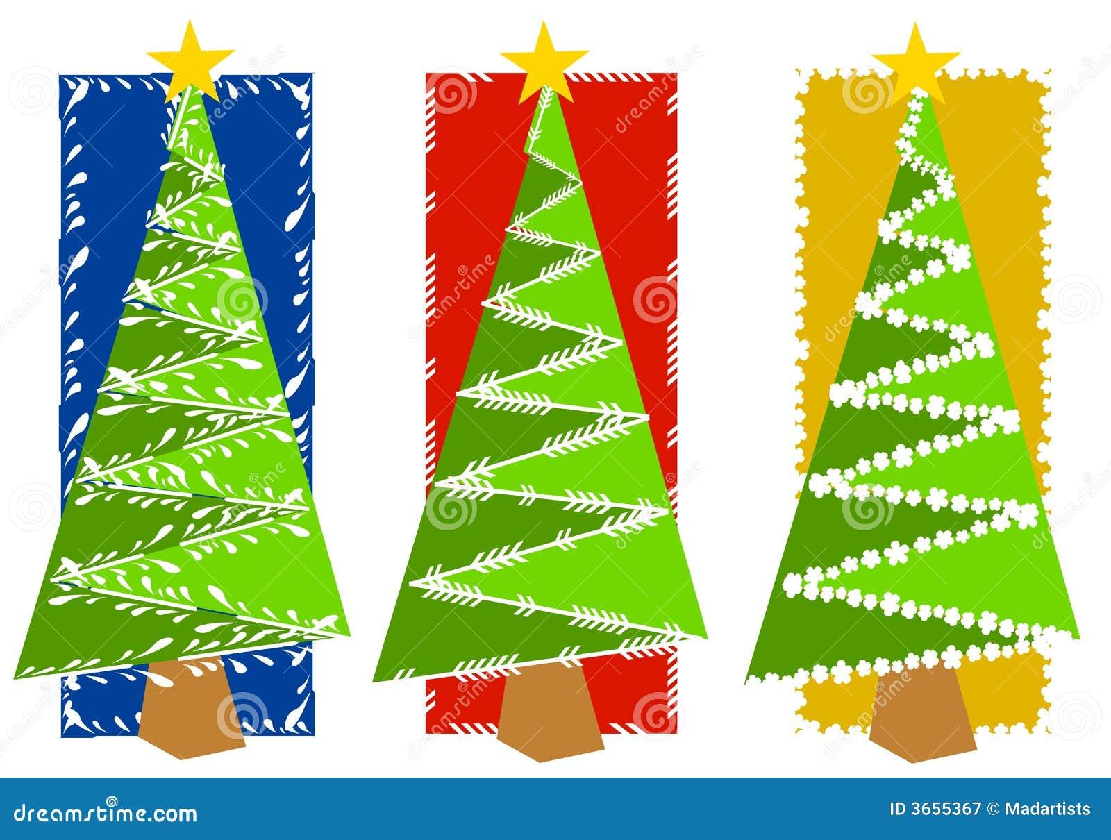 Milieux abstraits d arbre de Noël