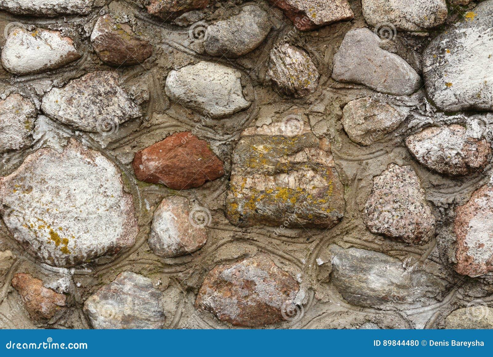 Milieux Du Mur En Pierre Photo Stock Image Du Dessin 89844480