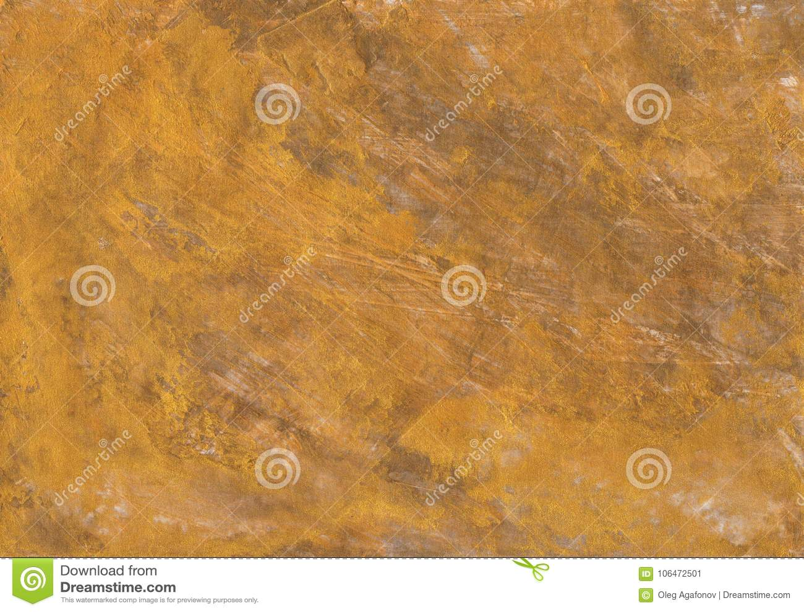 Milieux en bronze de texture de feuille d or