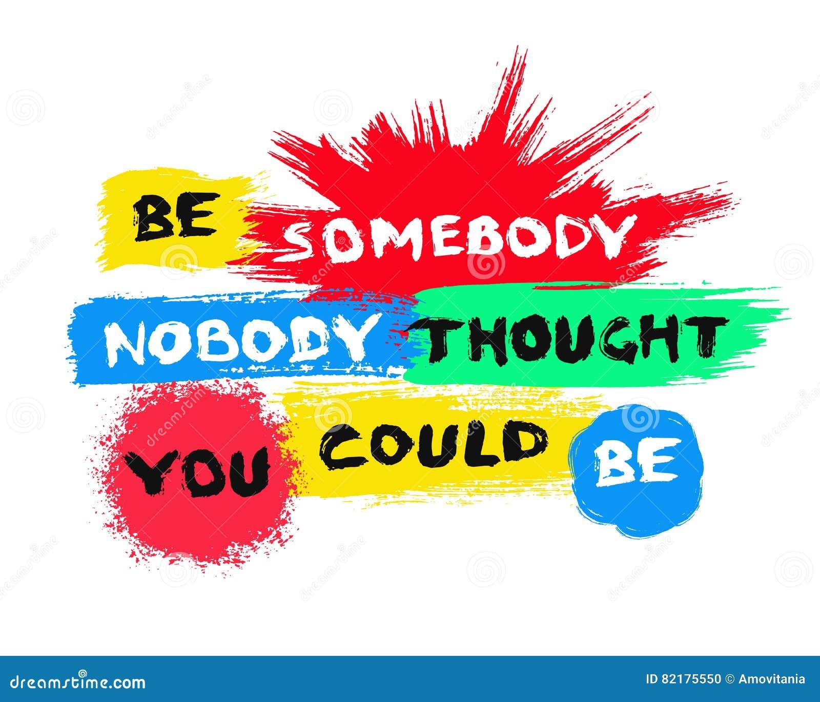 Milieux peints colorés d affiche de motivation