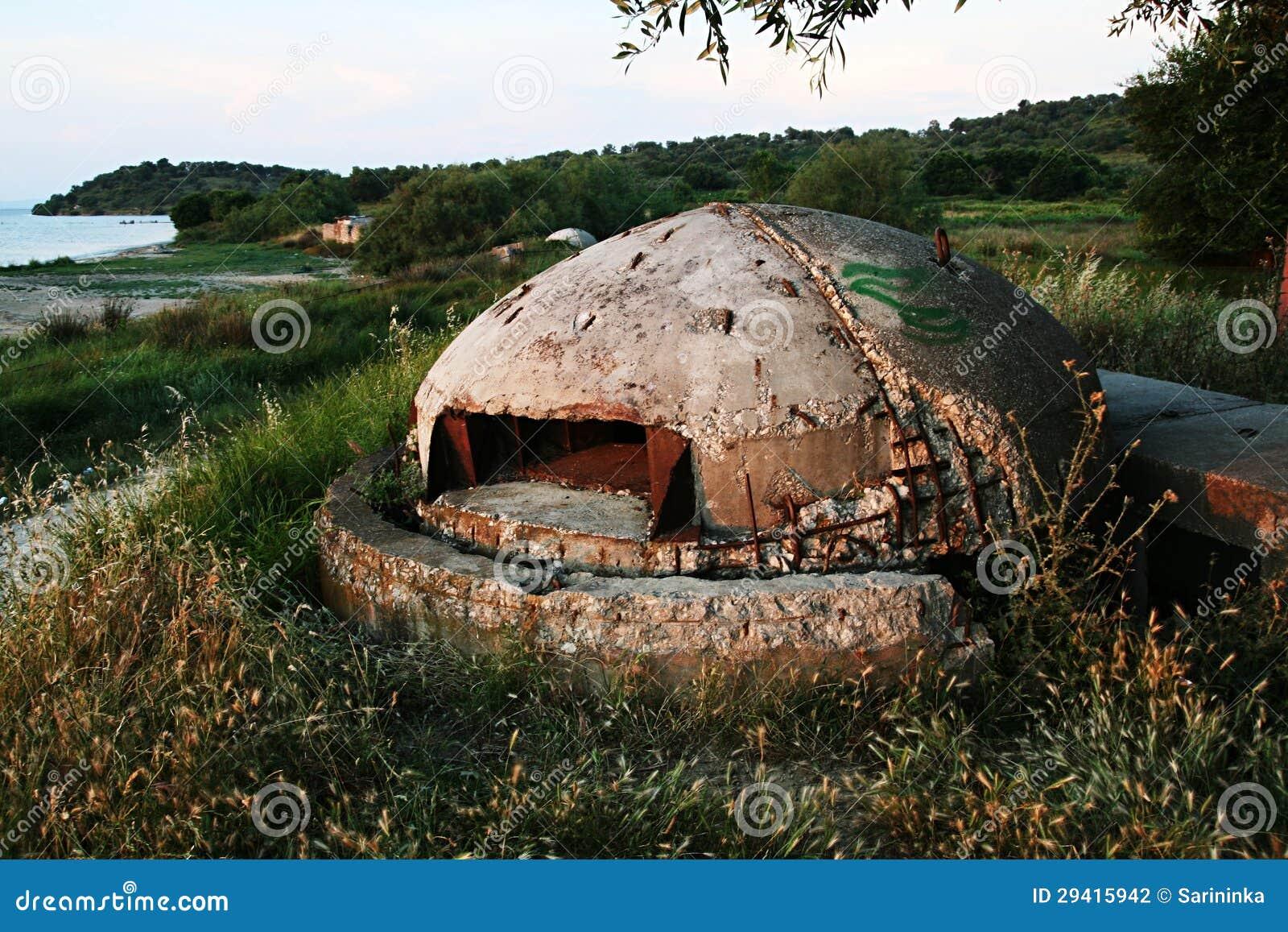 Militär bunker