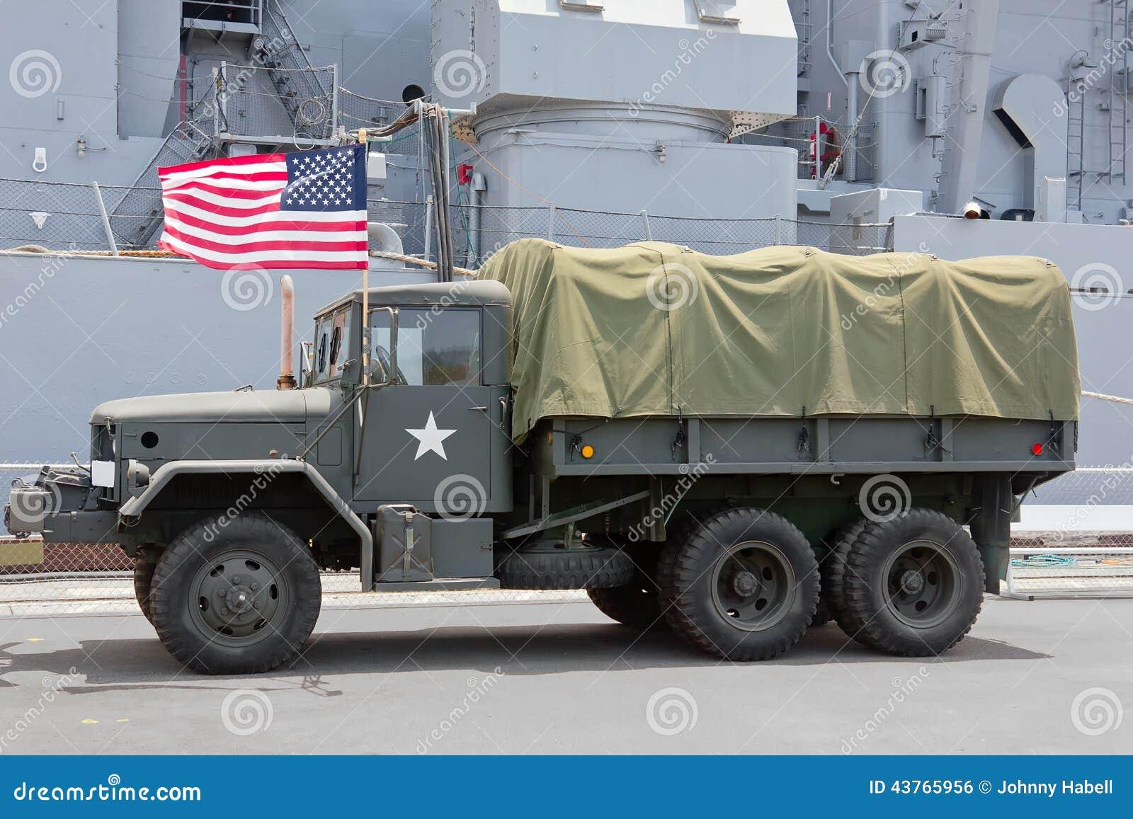 Alaskan Armee LKW