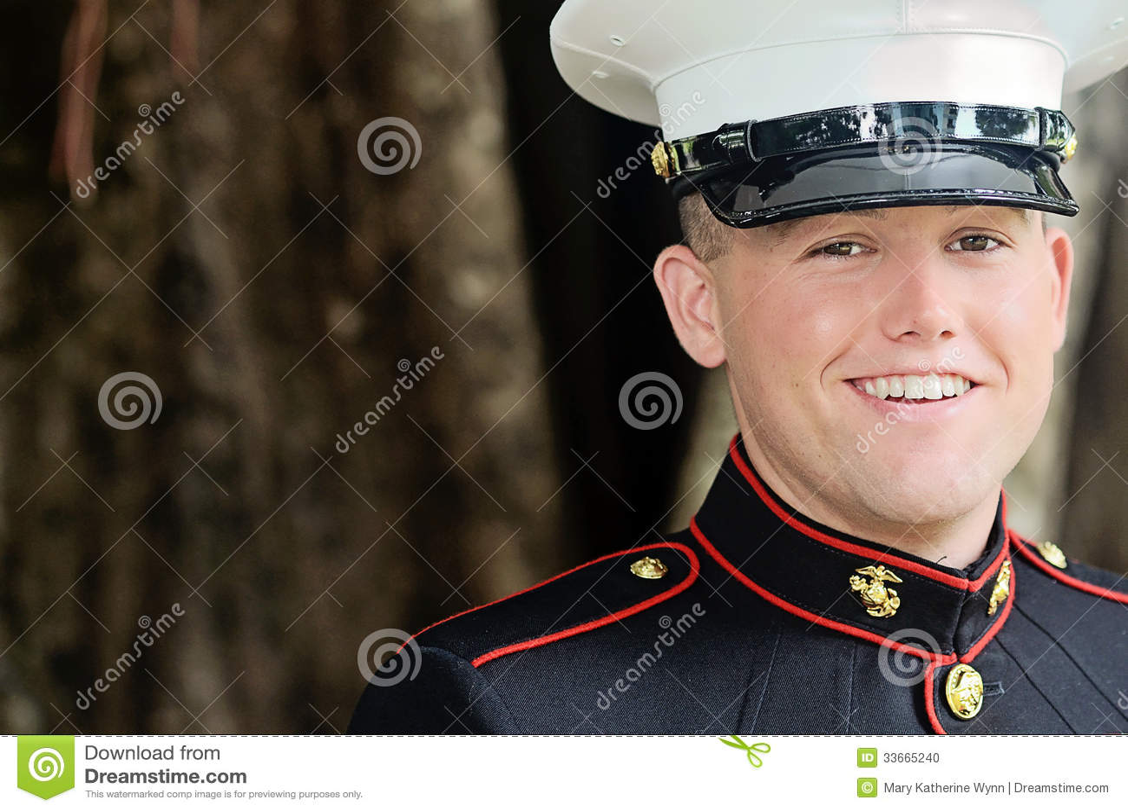 Militär man