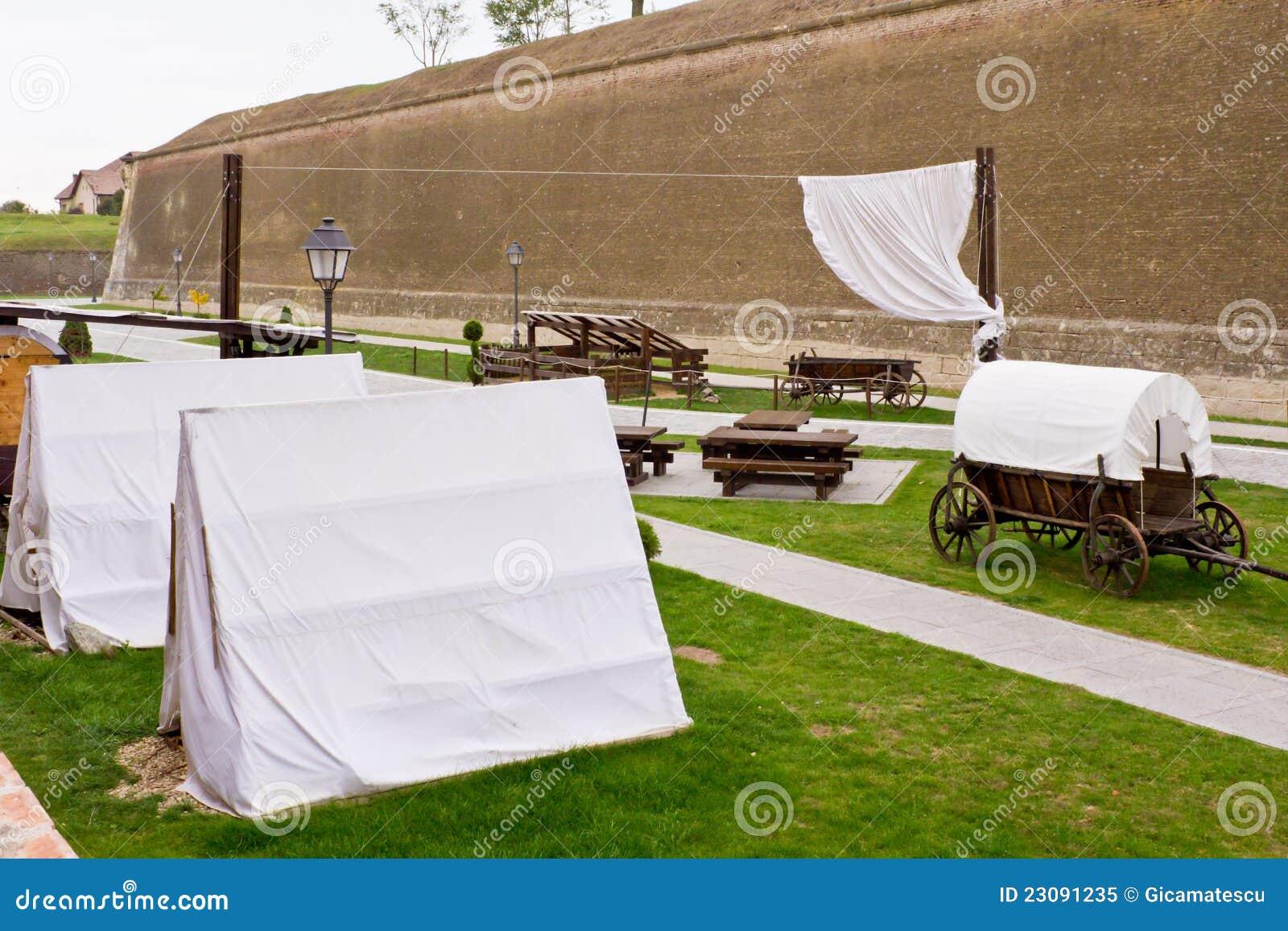 Militärt läger
