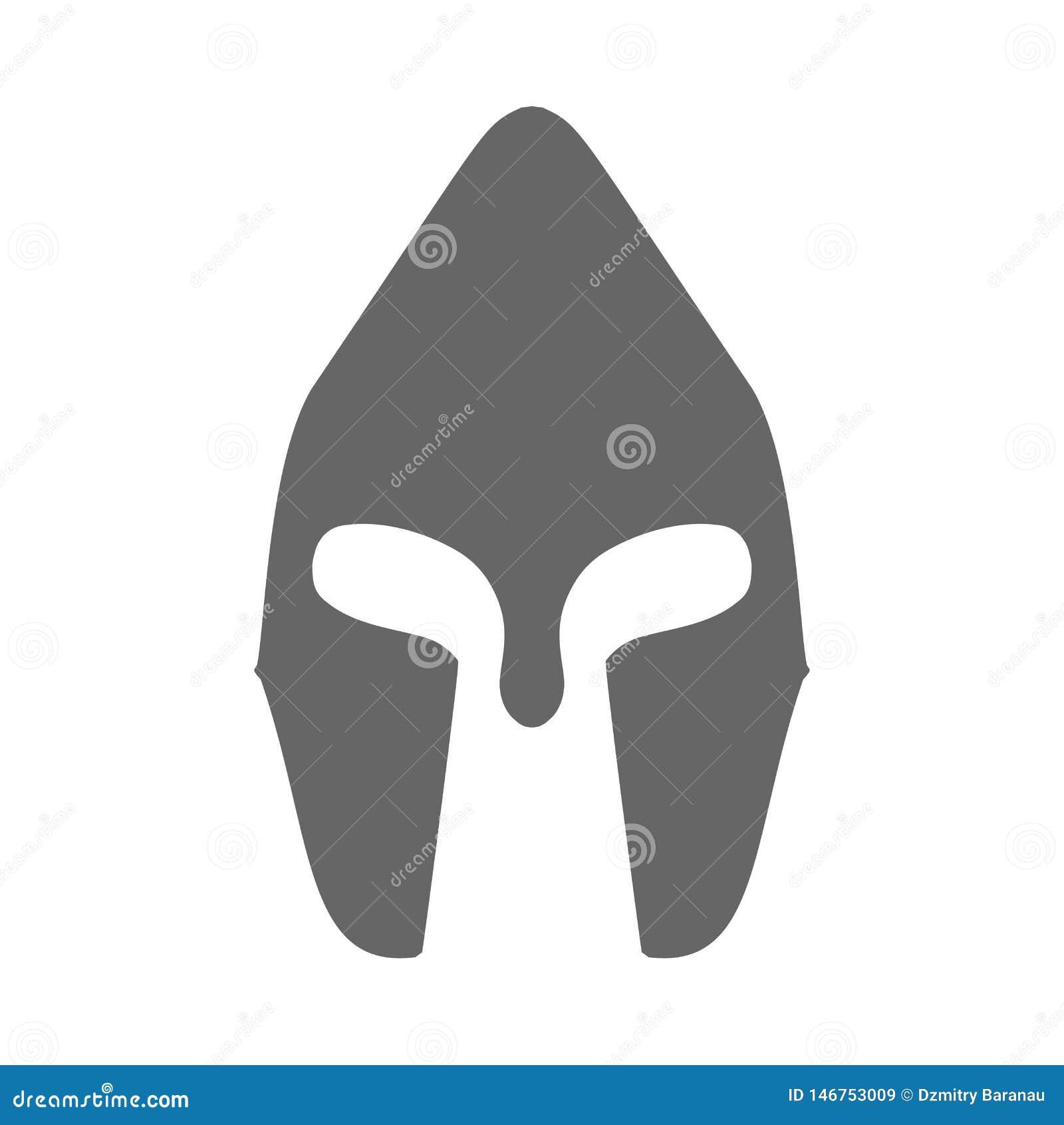 Milit?r utrustning f?r tecken f?r svart f?r symbol f?r hj?lmkrigareharnesk Symbol f?r vektor f?r ammunitionar f?r maskering f?r f