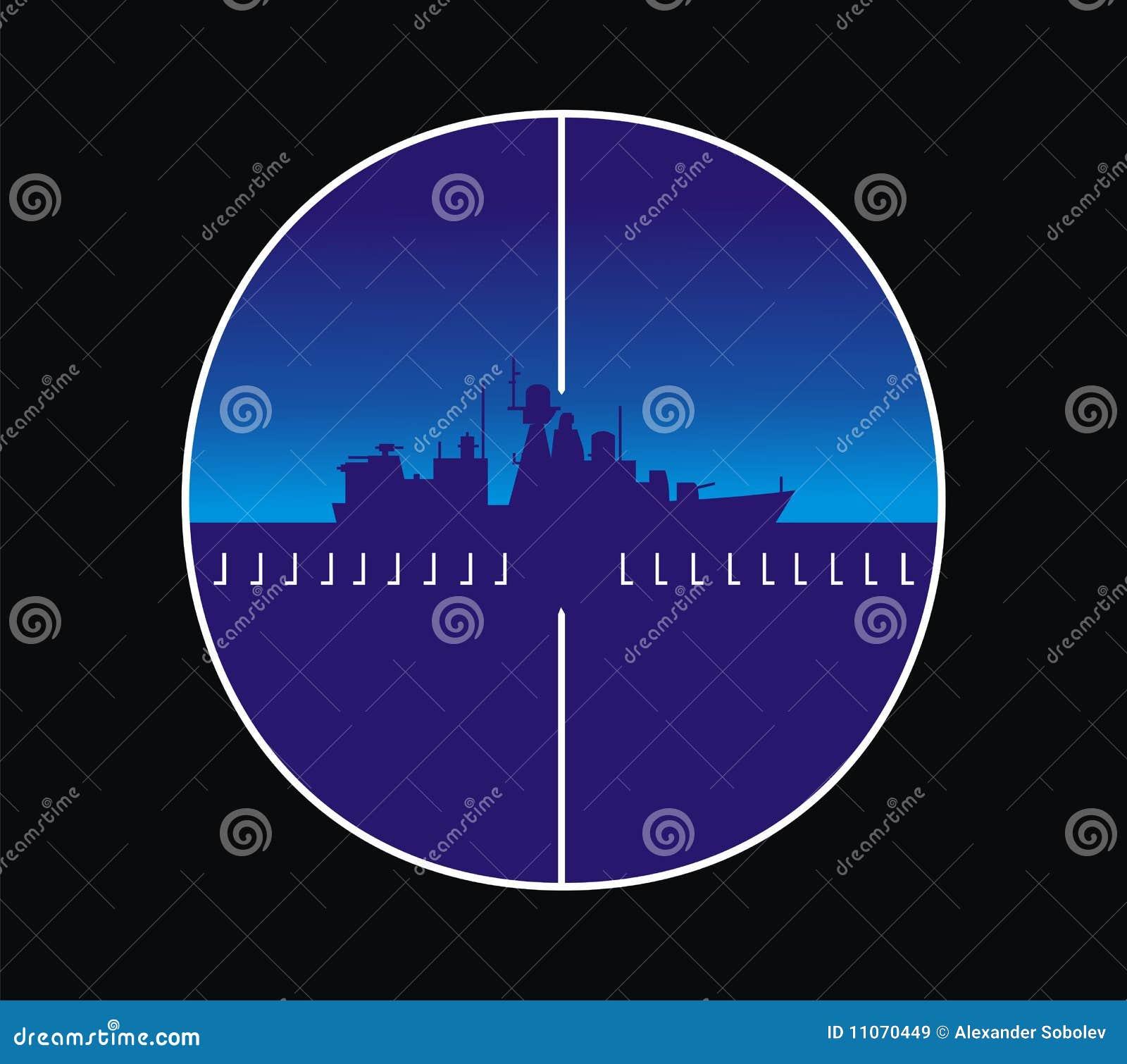 Militair schip in het overzees beeld in gezicht van peris royalty vrije stock afbeeldingen - Beeld het meisje van ...