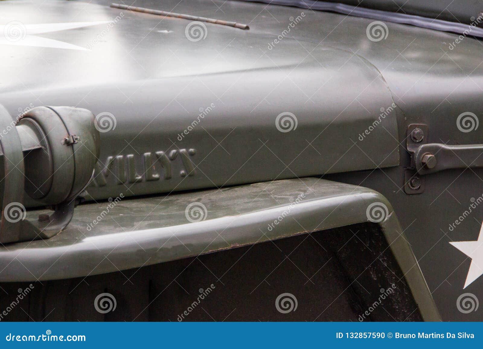 Militaire autodetails
