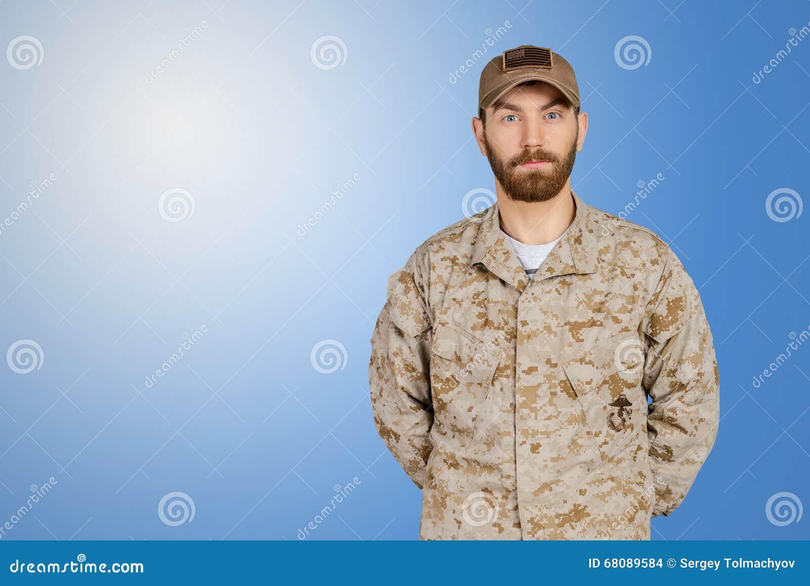 Militar do exército dos EUA