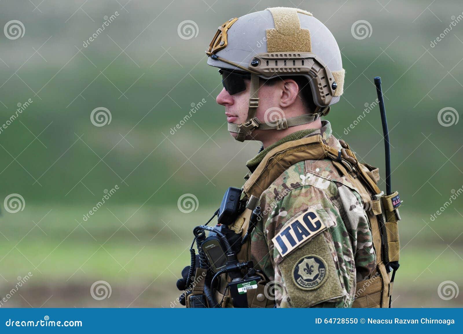 Militari degli Stati Uniti nel poligono militare rumeno