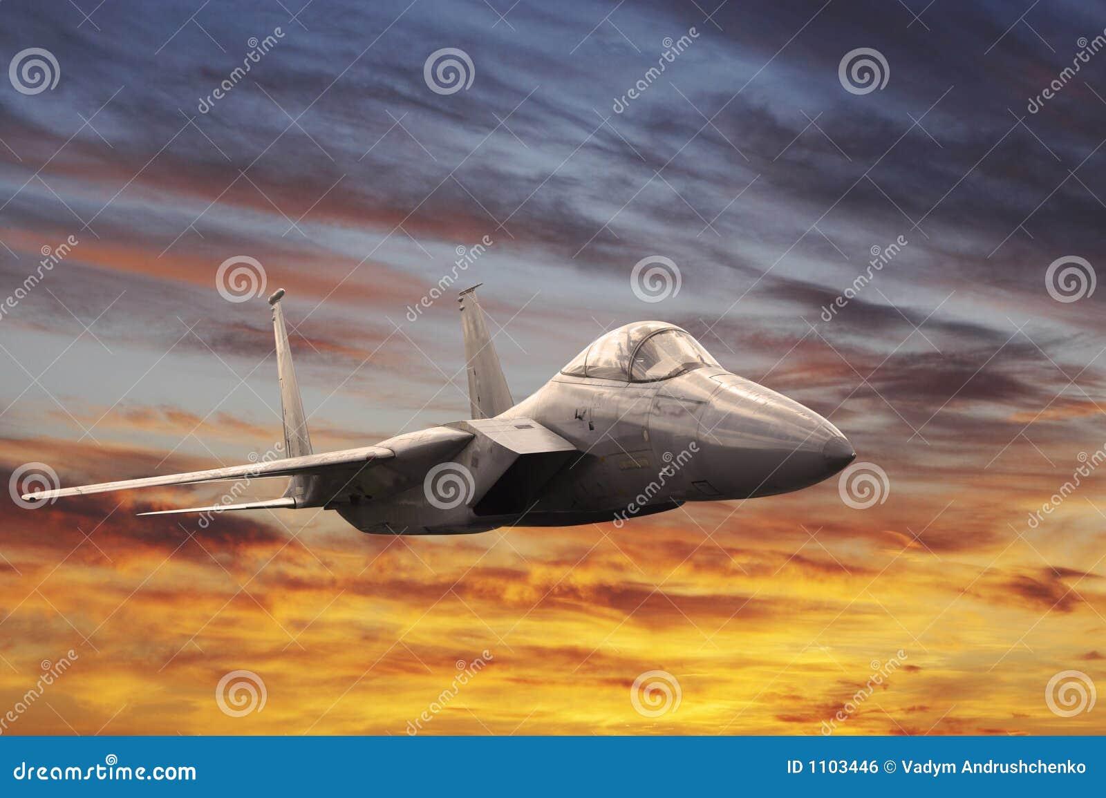 Military aeroplane