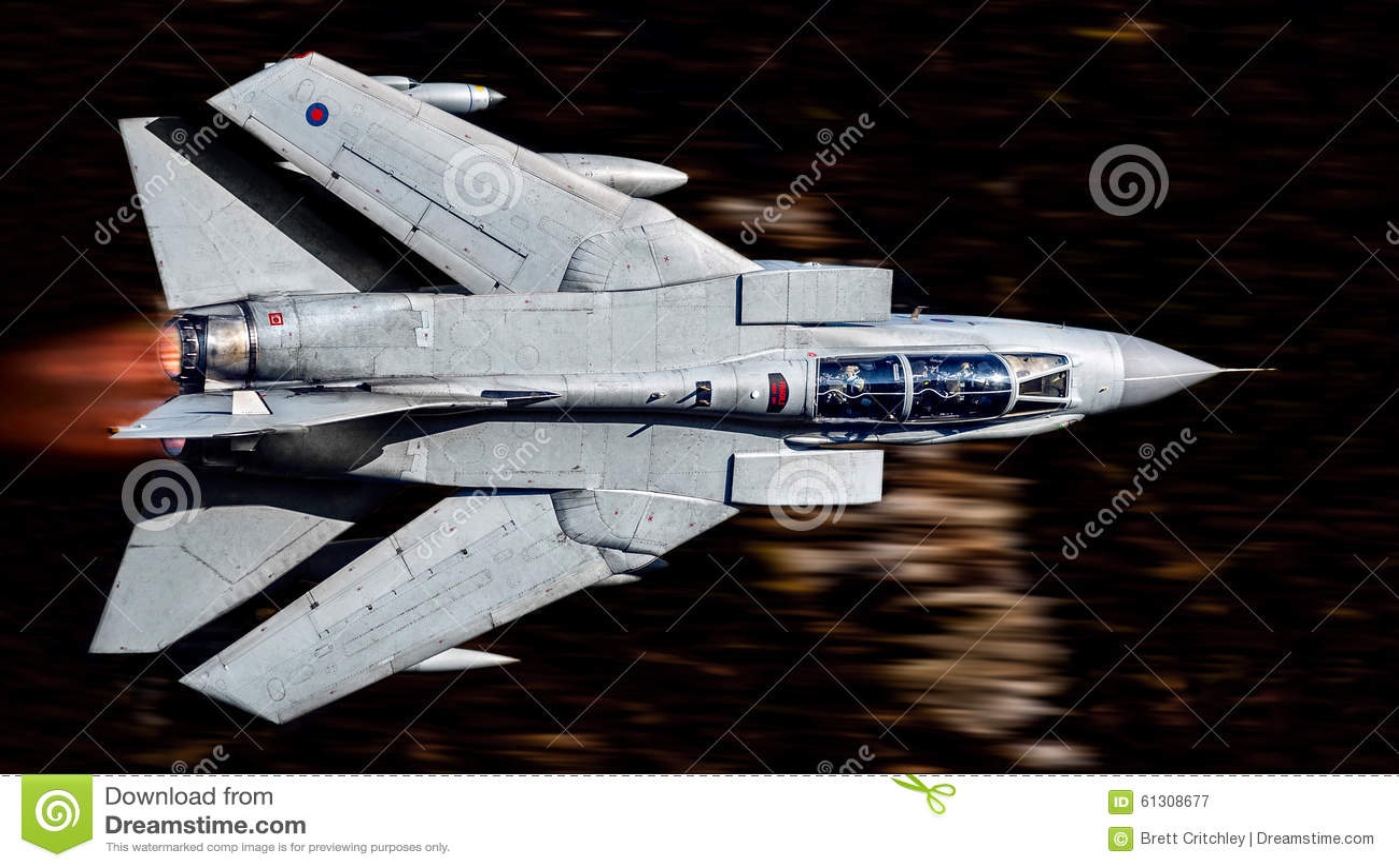 Military aircraft jet