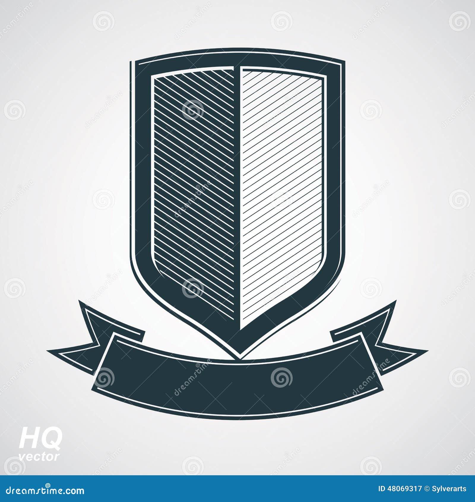 Military Defense Icon military award icon . vector grayscale defense ...