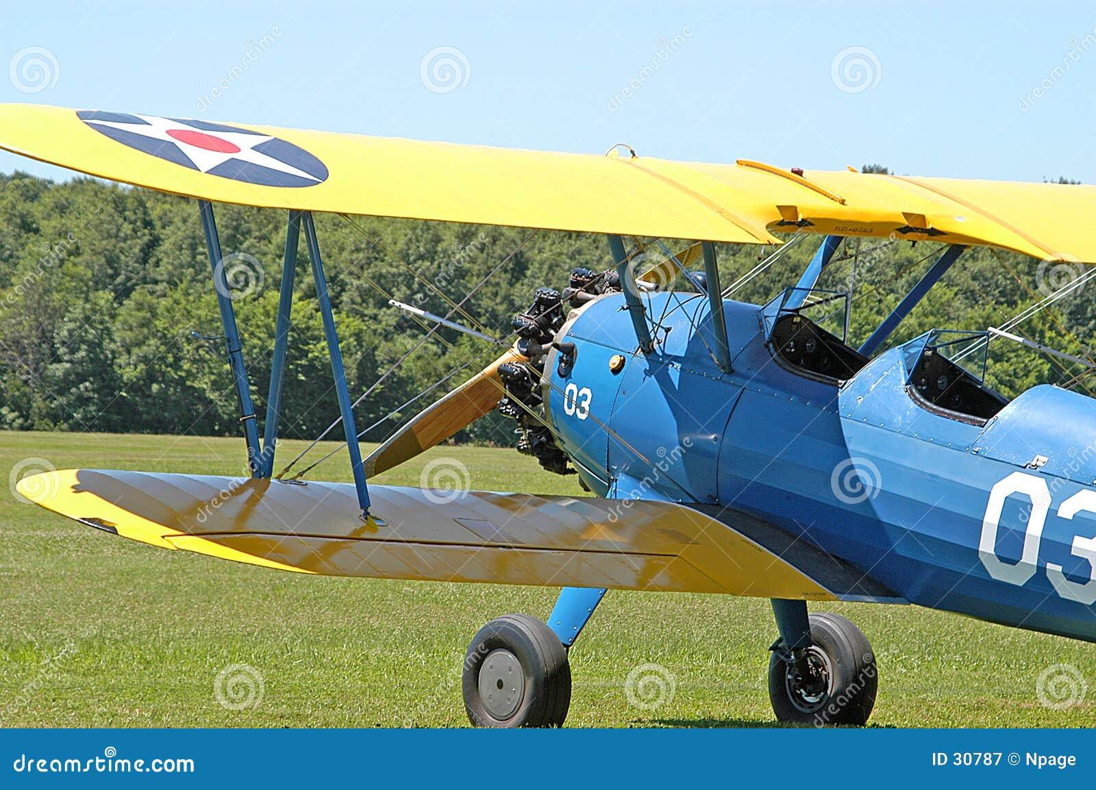Military Biplane