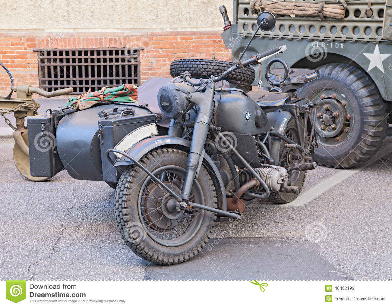 Military Bmw R75 750 Cc 1942 Editorial Stock Photo Image Of Military Germany 46482193