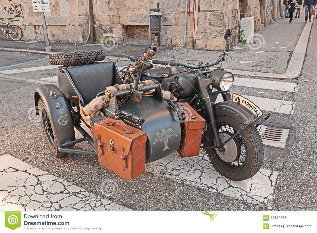 Military Bmw R75 With Machine Gun Editorial Photography Image Of Europe November 62814282