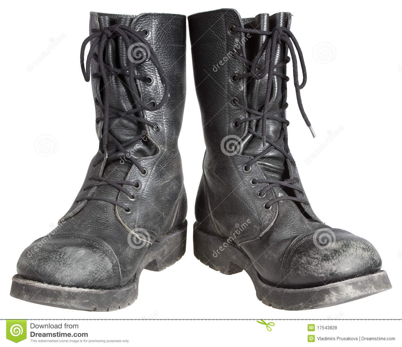 Military Boots Stock Photo Image Of Cutout Dark Active
