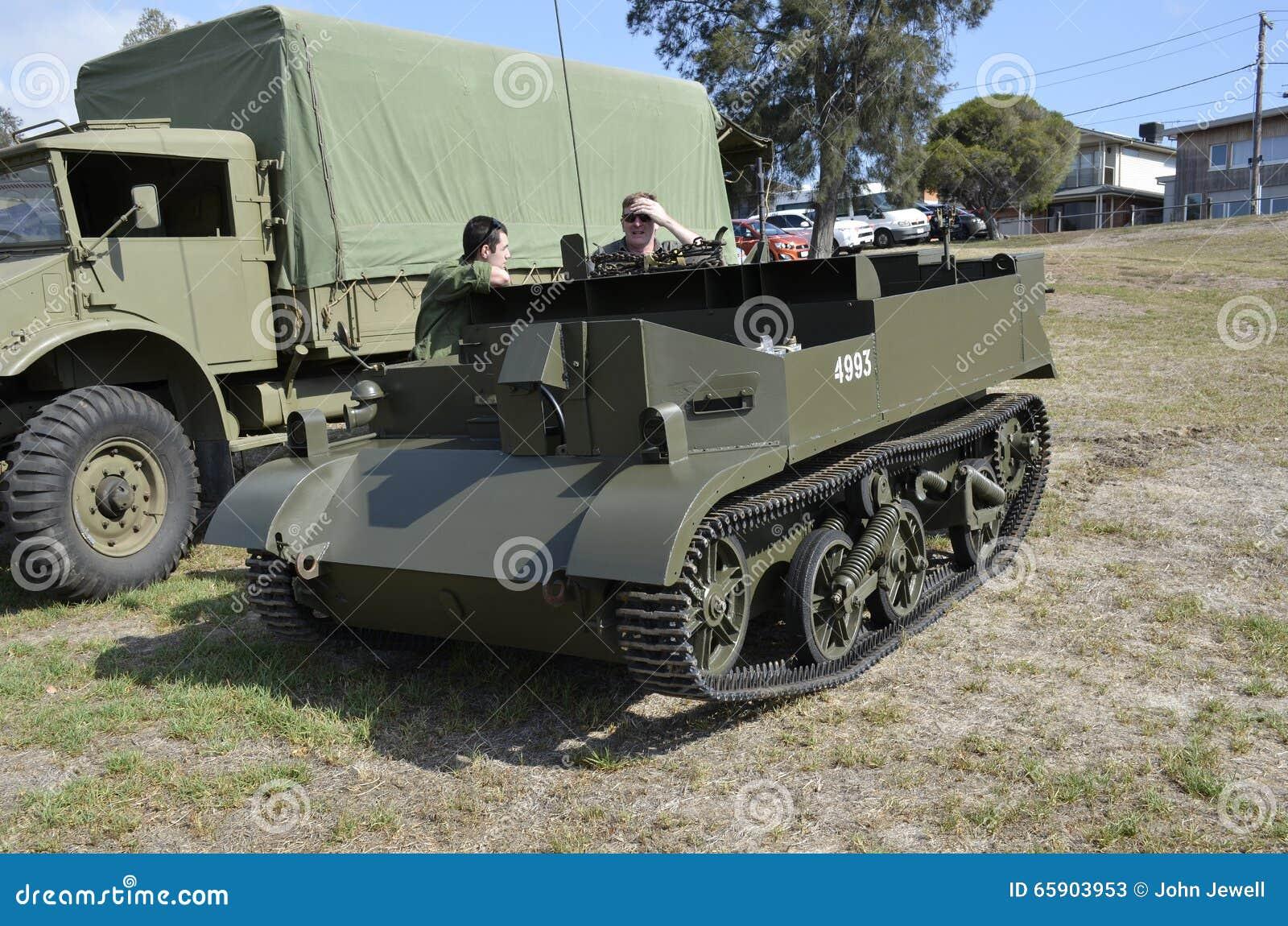 Military. Bren Gun Carrier.