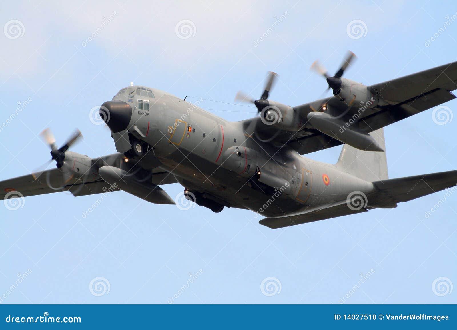 Elicottero C130 : Military c hercules plane editorial stock photo image