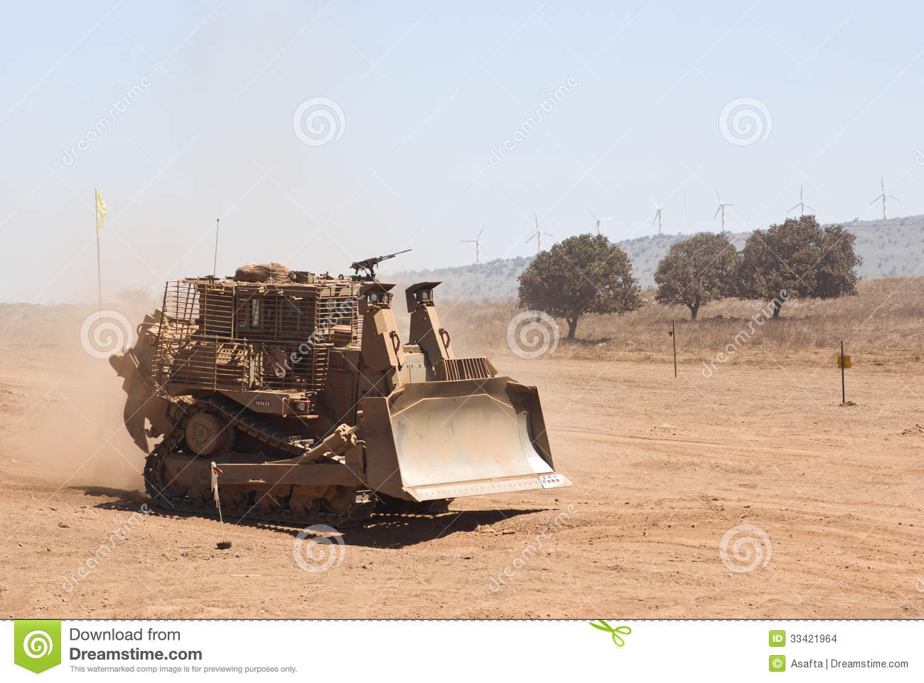 Military Heavy-duty Tractor Editorial Stock Image - Image of