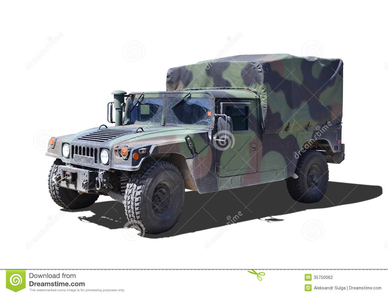 Military Humvee Stock Photography Image 35750062