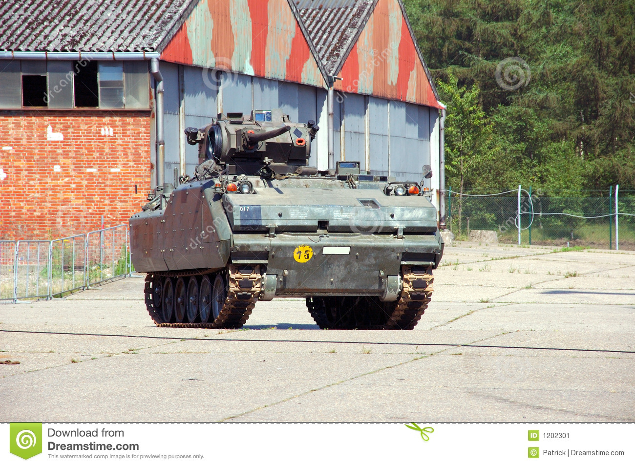 Military industry, tank