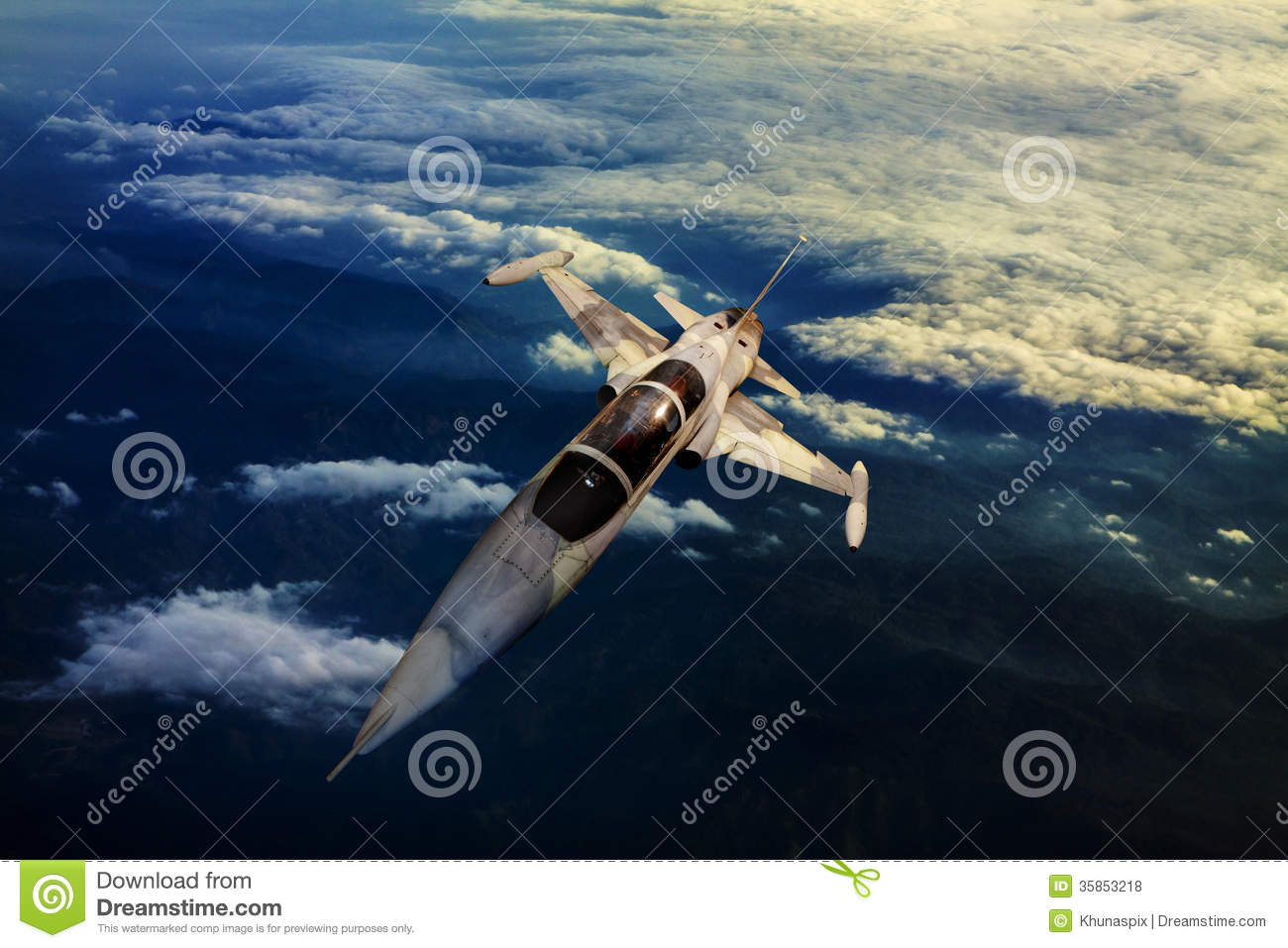 Download Military Jet Plane Flying Over Mountain Country View Below Stock Photo - Image of planes, fast: 35853218