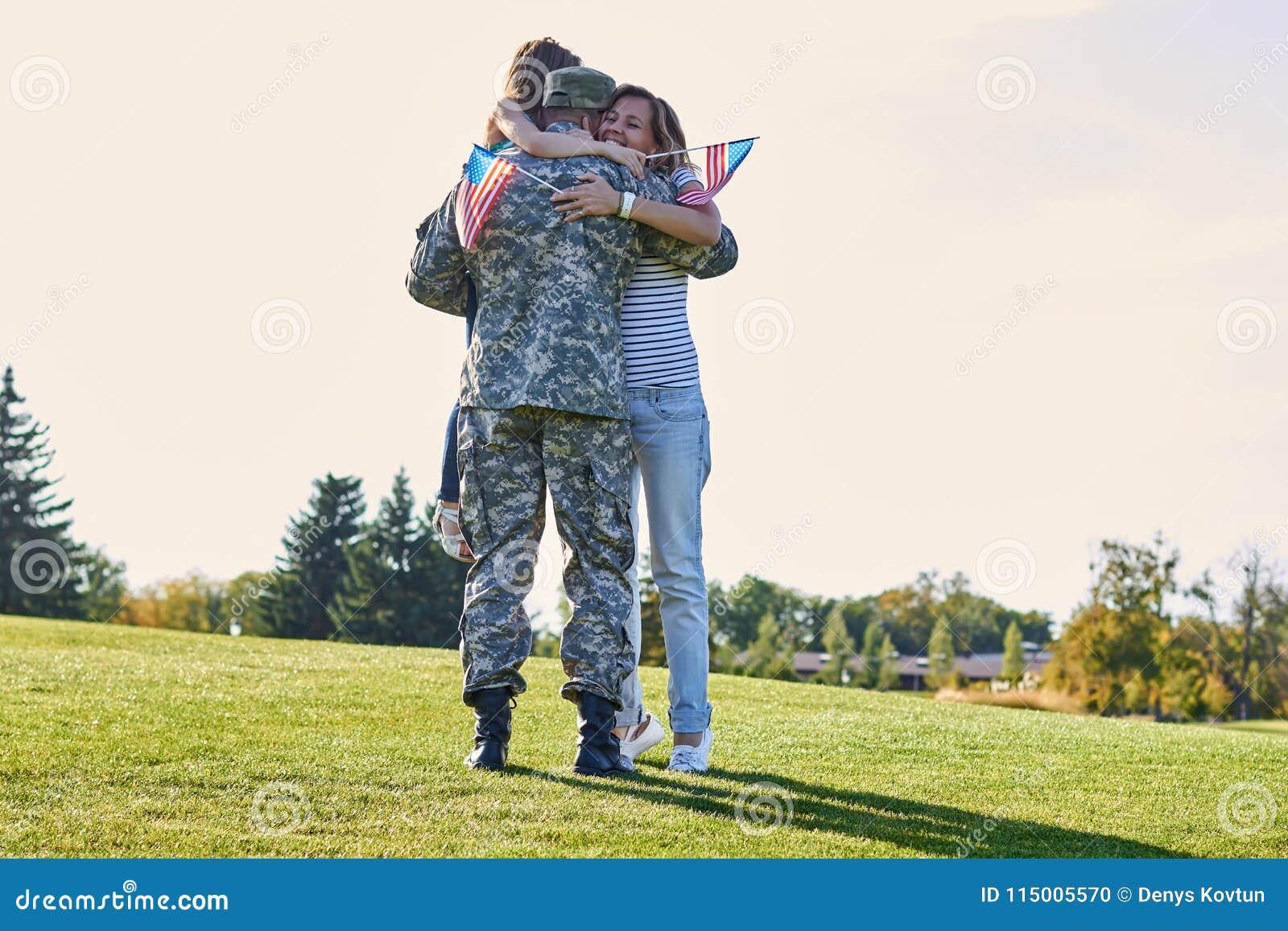I love military men