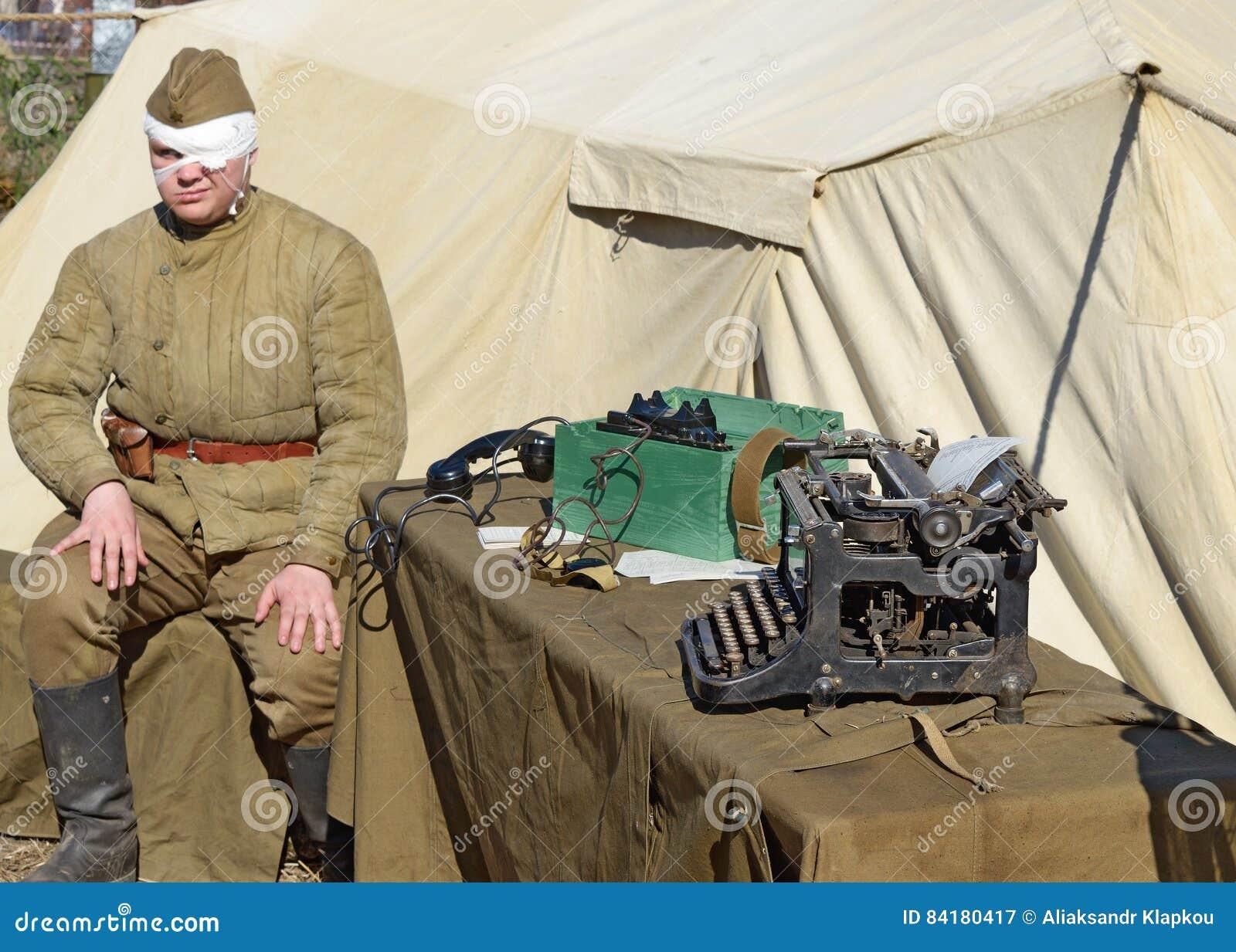 5998b4b62029f Military Paraphernalia At The Festival. Editorial Photography ...