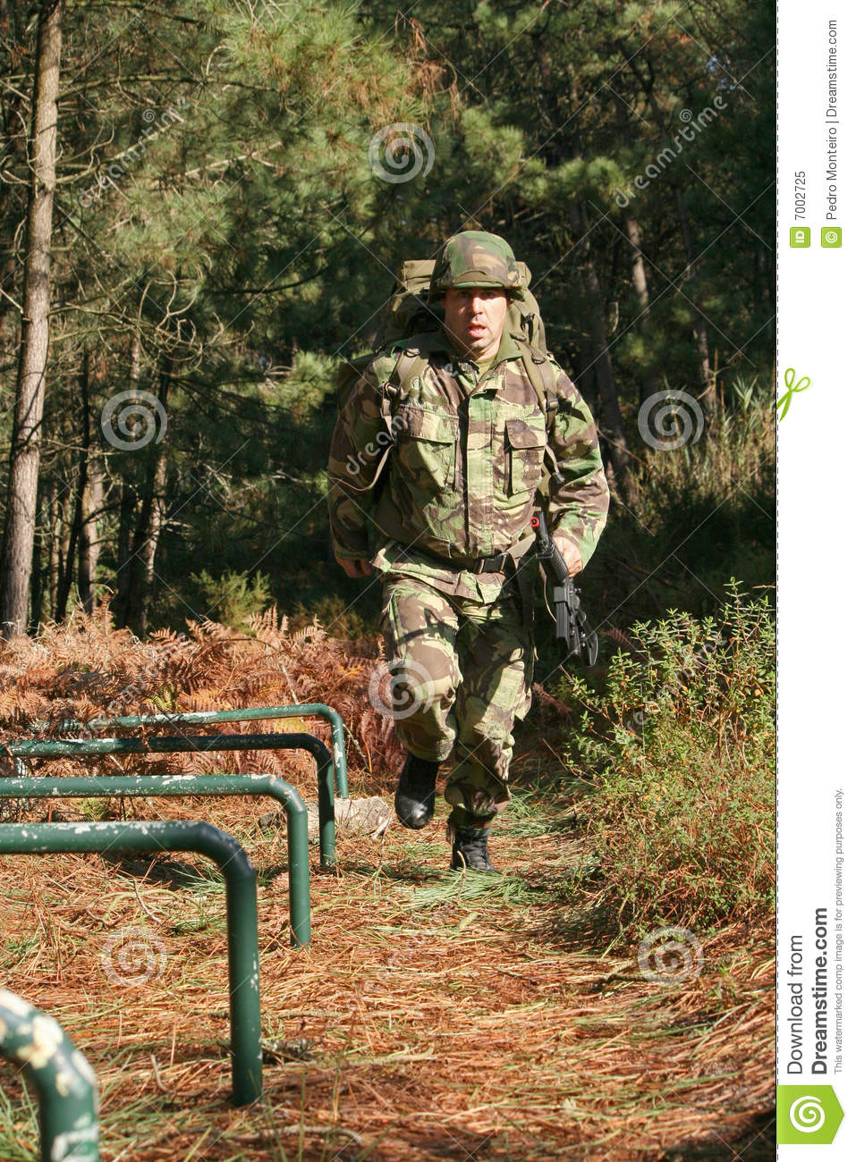 Military physical training