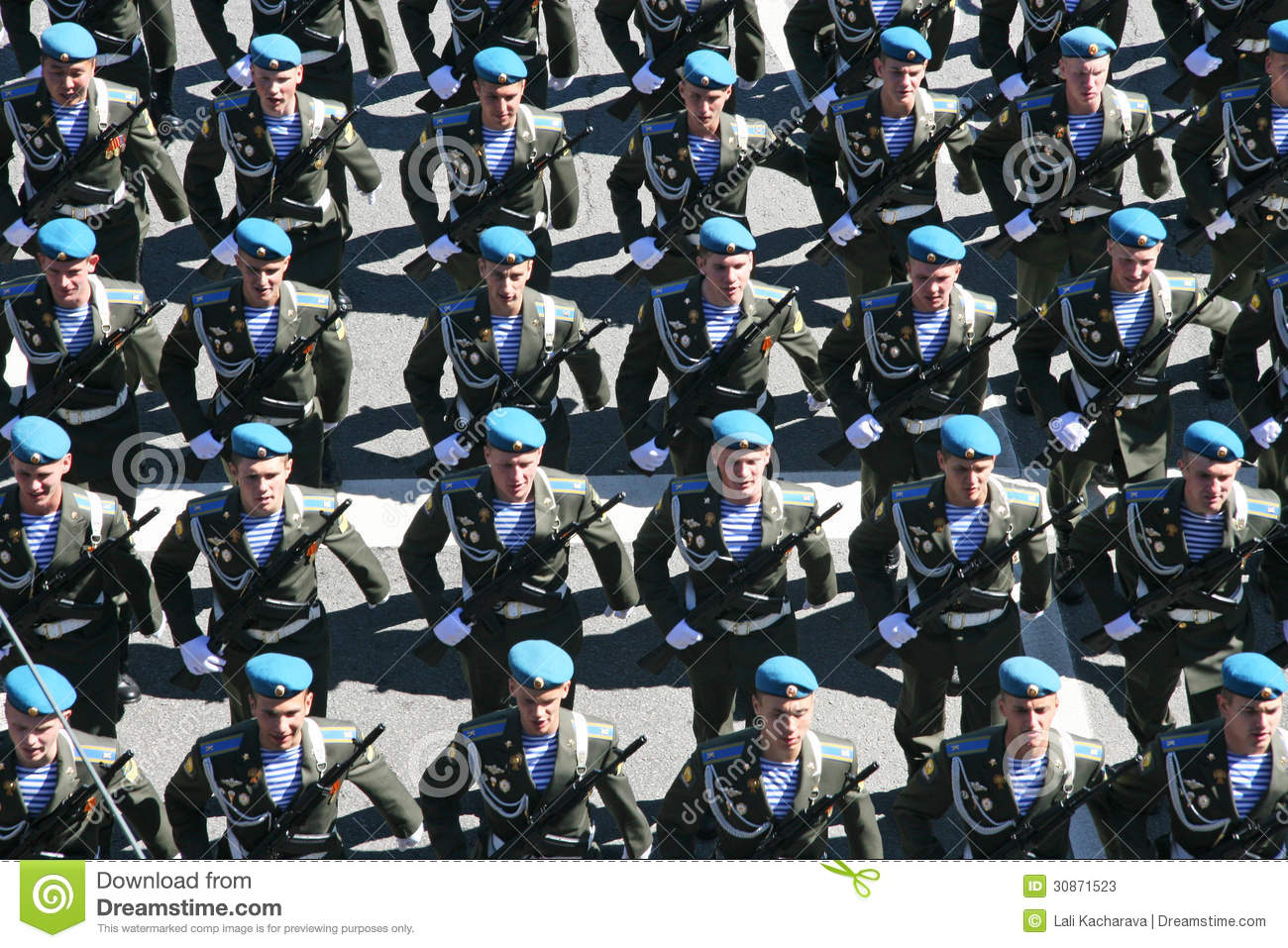 Military rehearsal editorial stock photo image 30871523