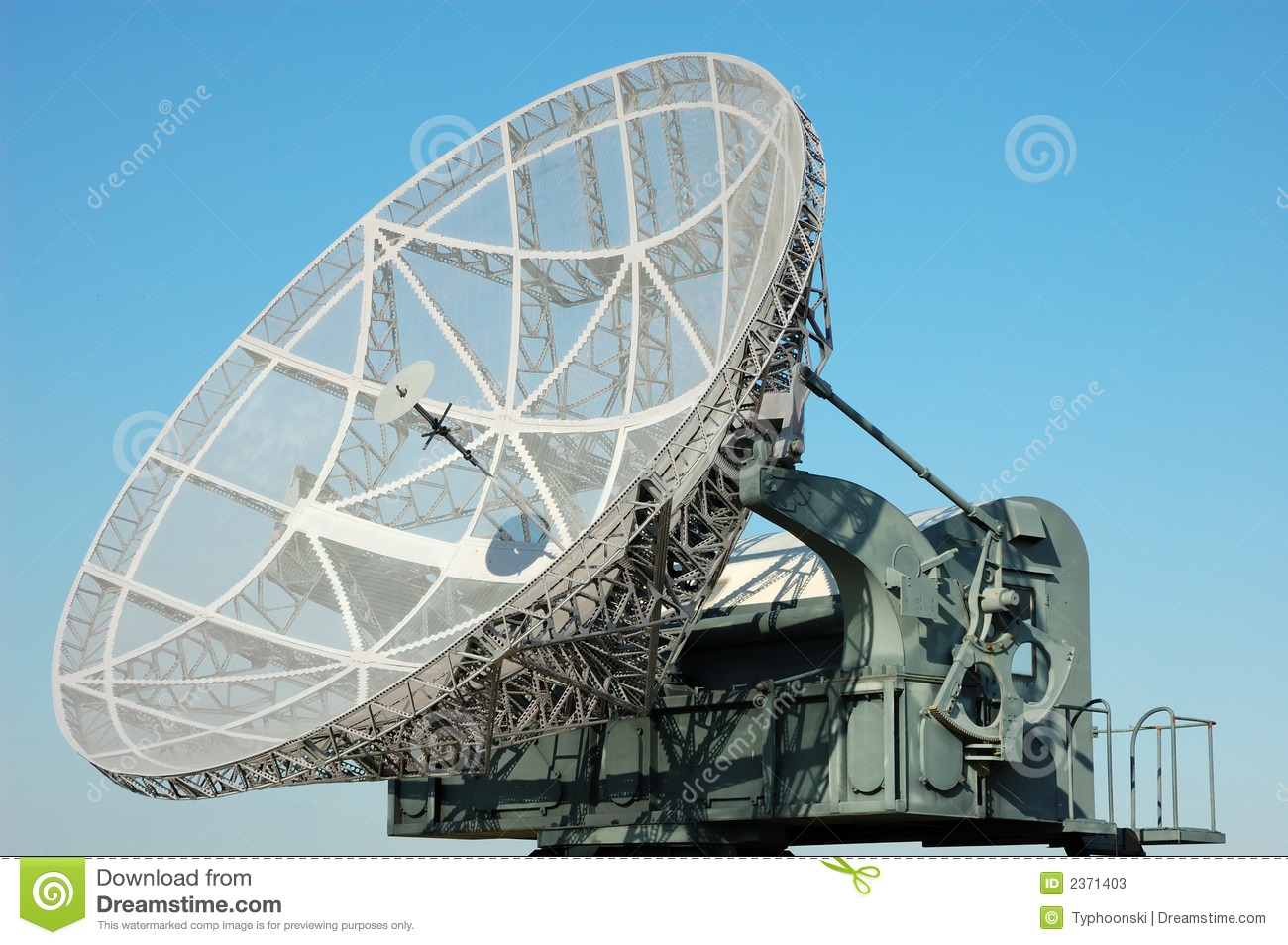 military satellite dish stock image image of dish network 2371403. Black Bedroom Furniture Sets. Home Design Ideas