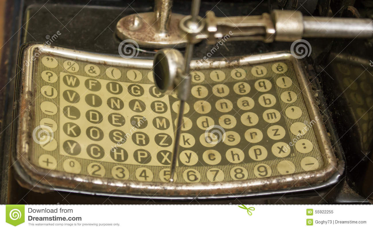 Military Secret Code Stock Image Image Of Letters Enigma