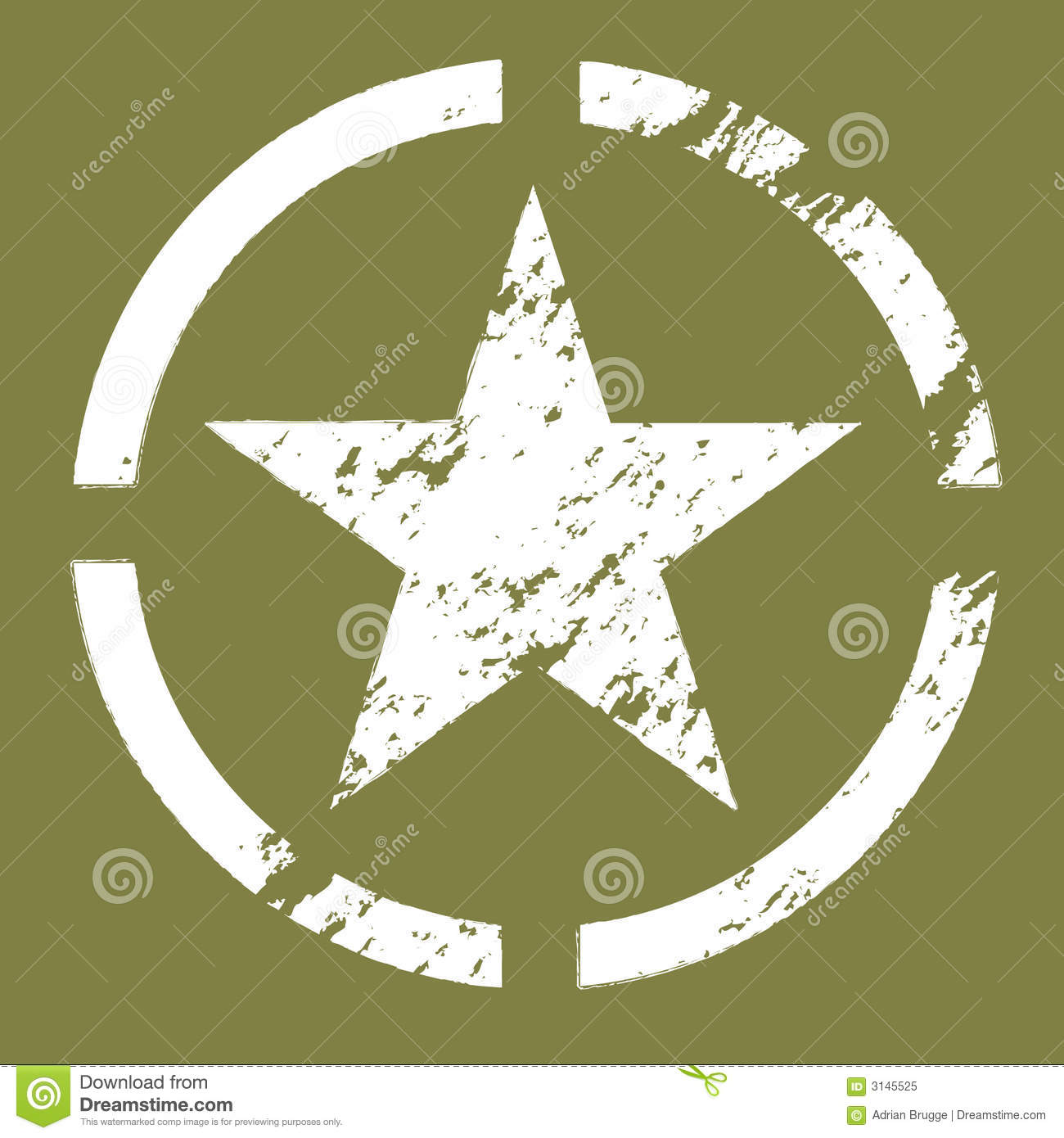 Military star symbol stock vector illustration of vintage 3145525 military star symbol buycottarizona