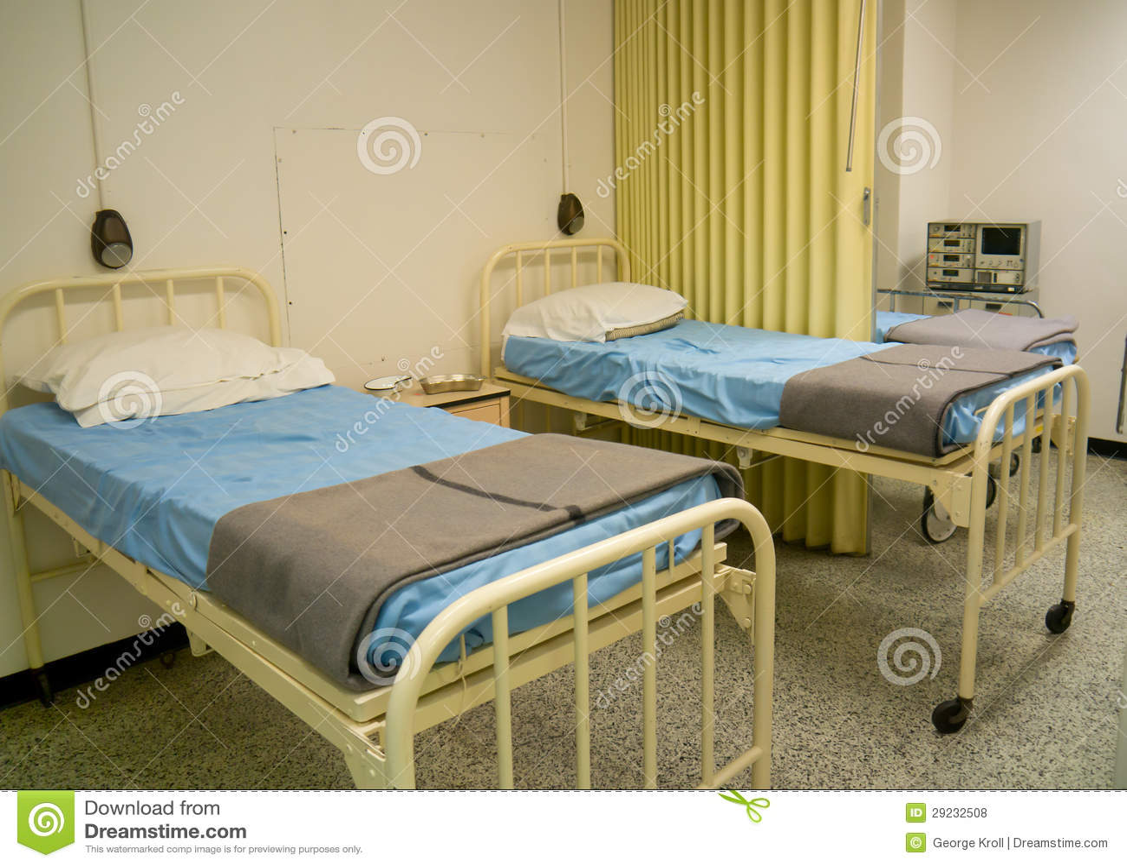 Military style hospital beds. Military Style Hospital Beds Stock Photo   Image  29232508
