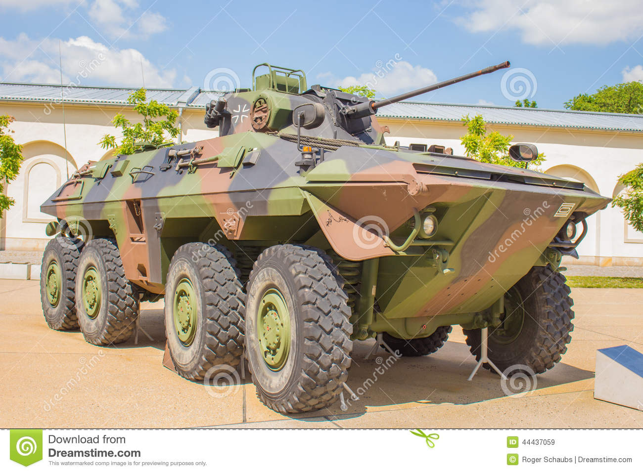 Military Tank Germany - Luchs / Lynx Stock Photo - Image: 44437059