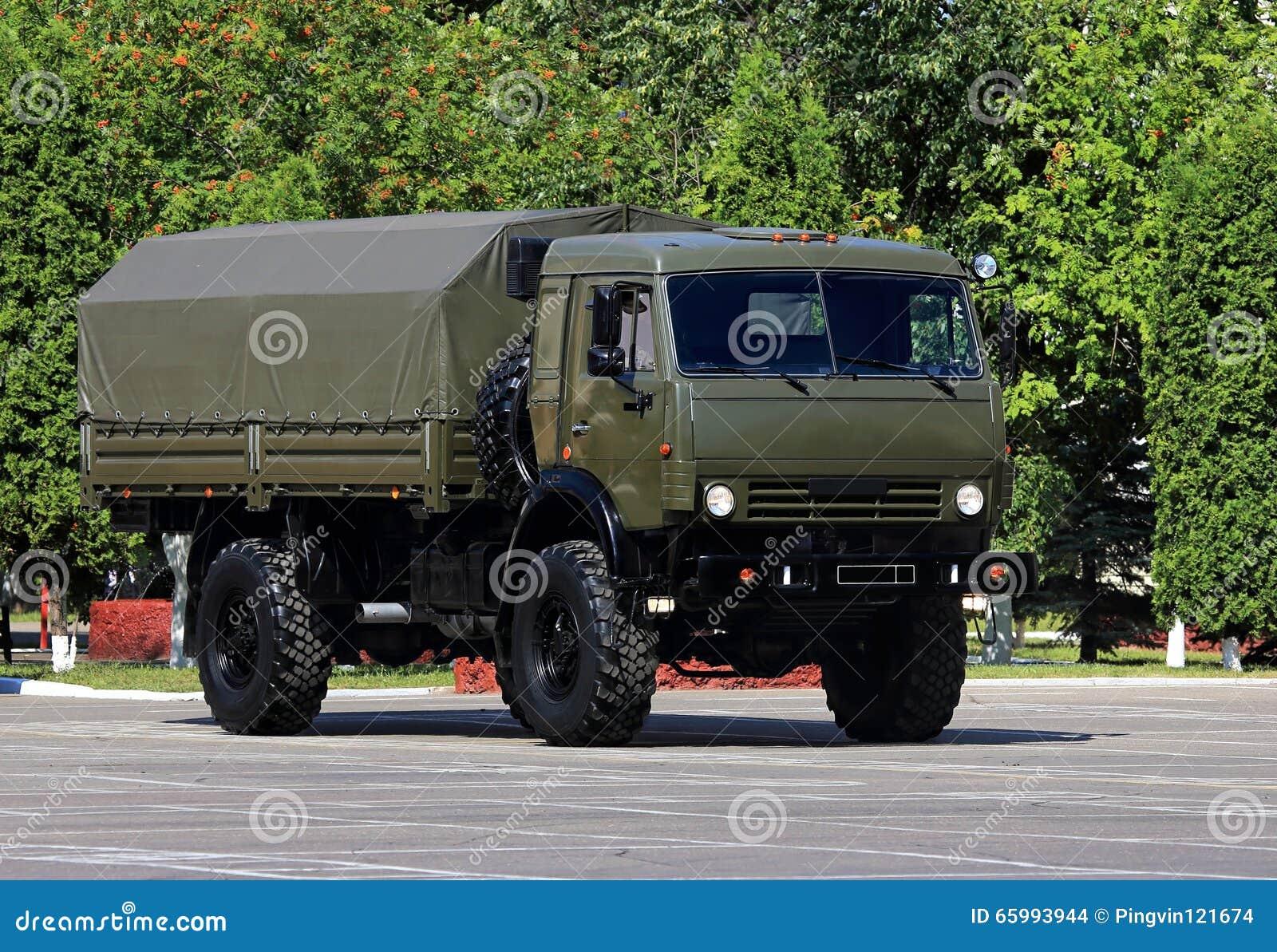 Military Transport Vehicle Stock Illustration