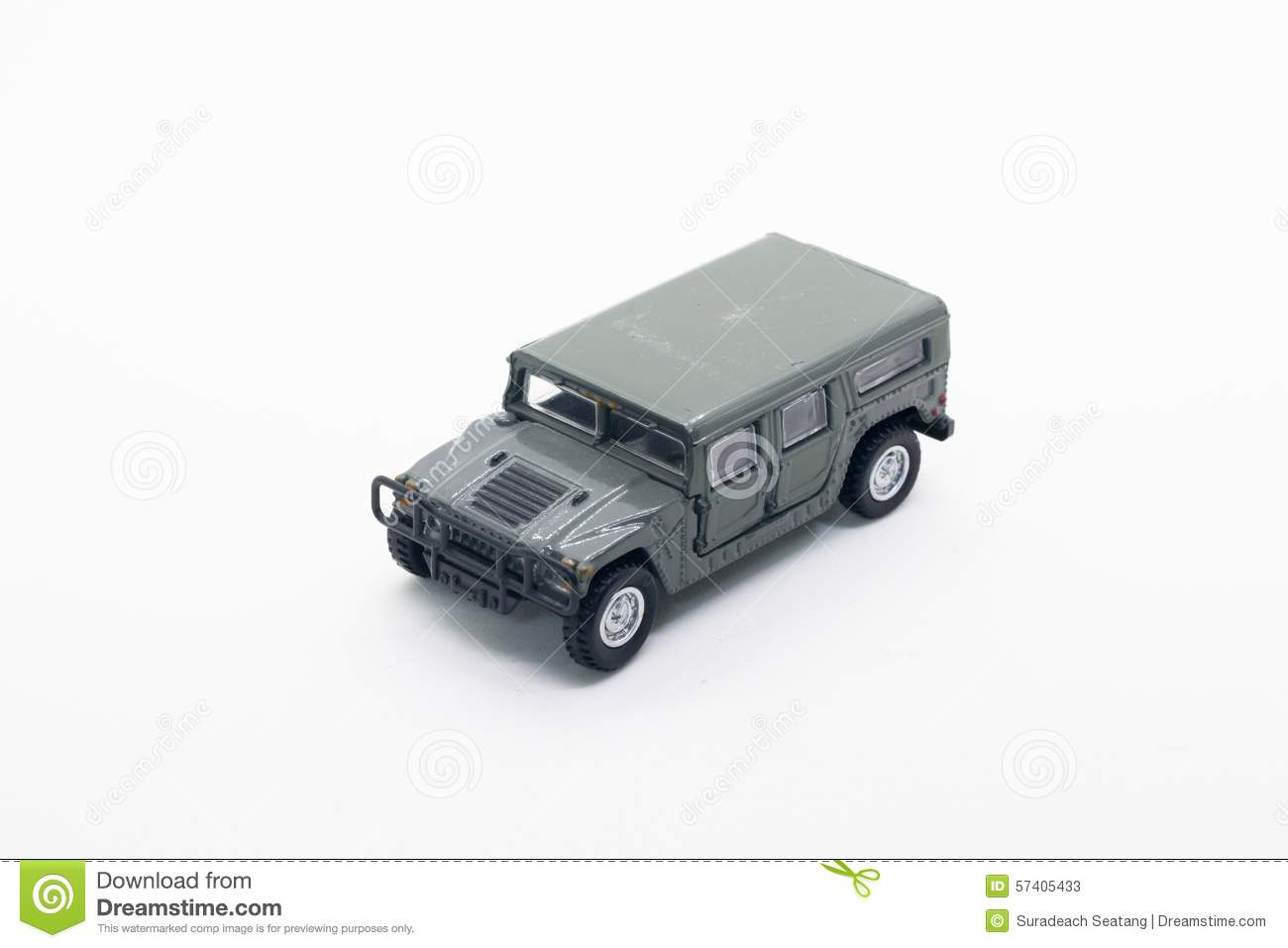 military truck model toy