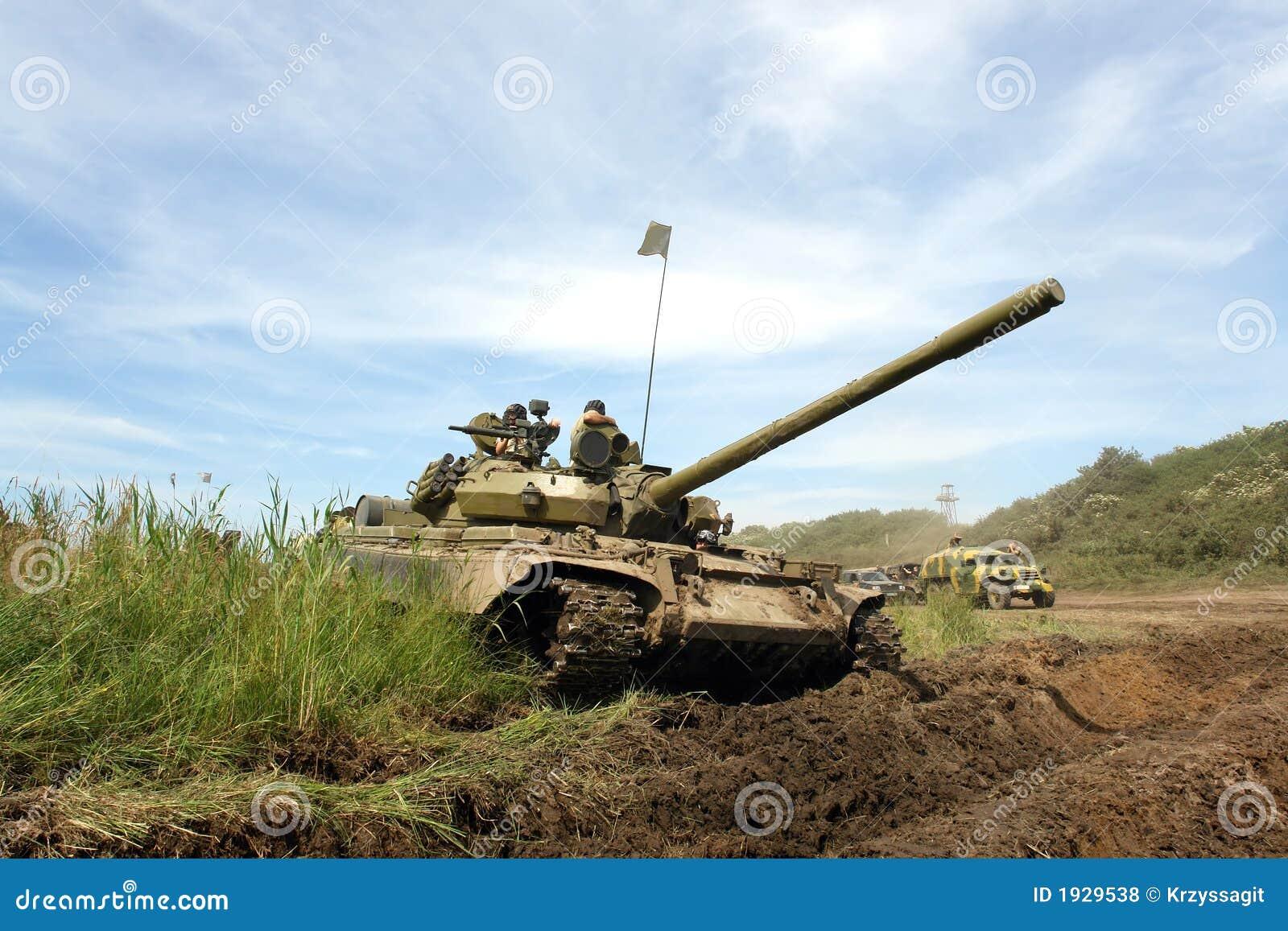 Military vehicle, old tank, WW