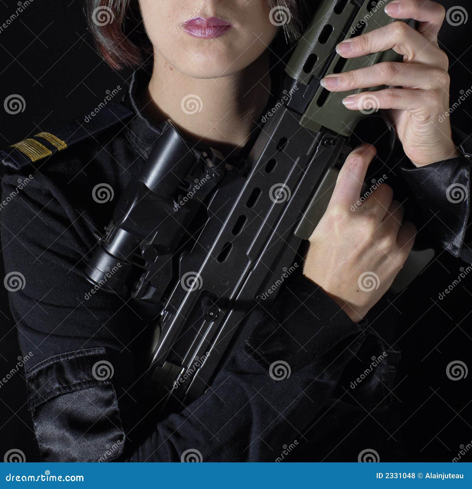 Military woman 3