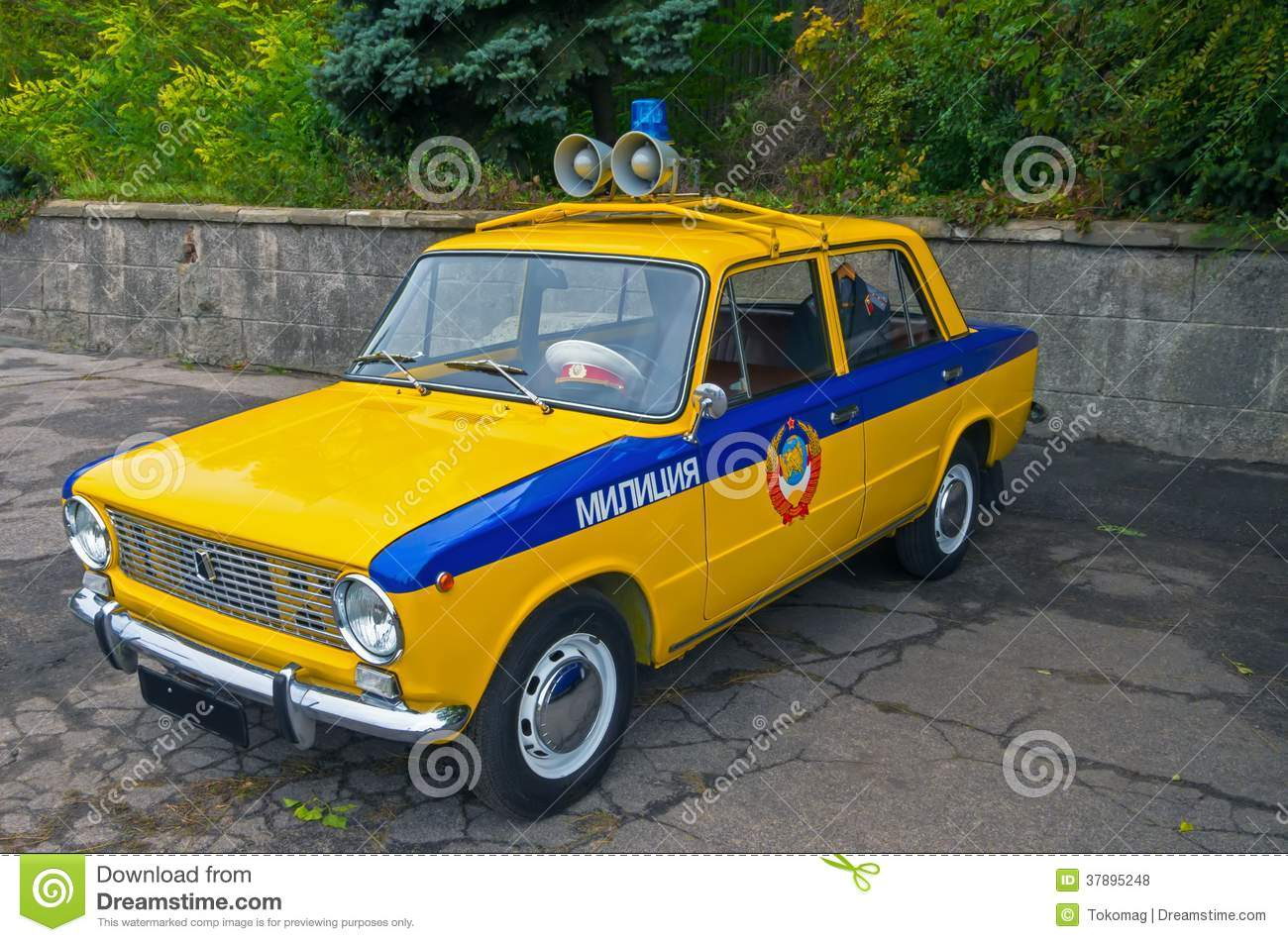 Militia Car Police Stock Photo Image Of Glass Order