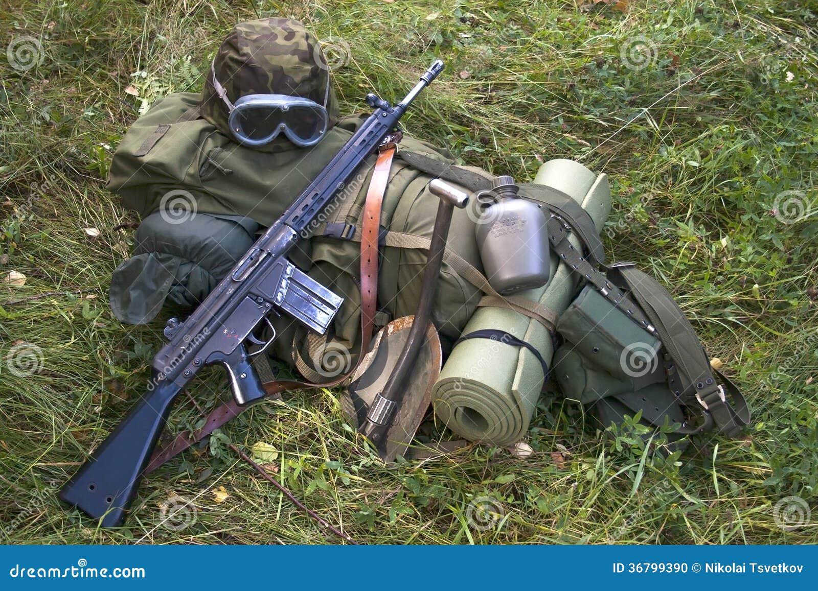 militär utrustning