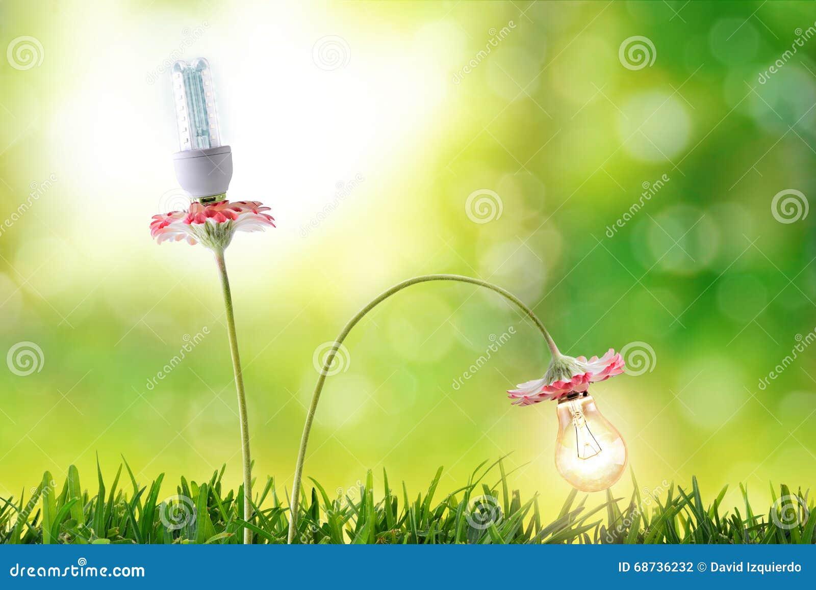 Miljövård för kulor för belysning för energieffektivitet