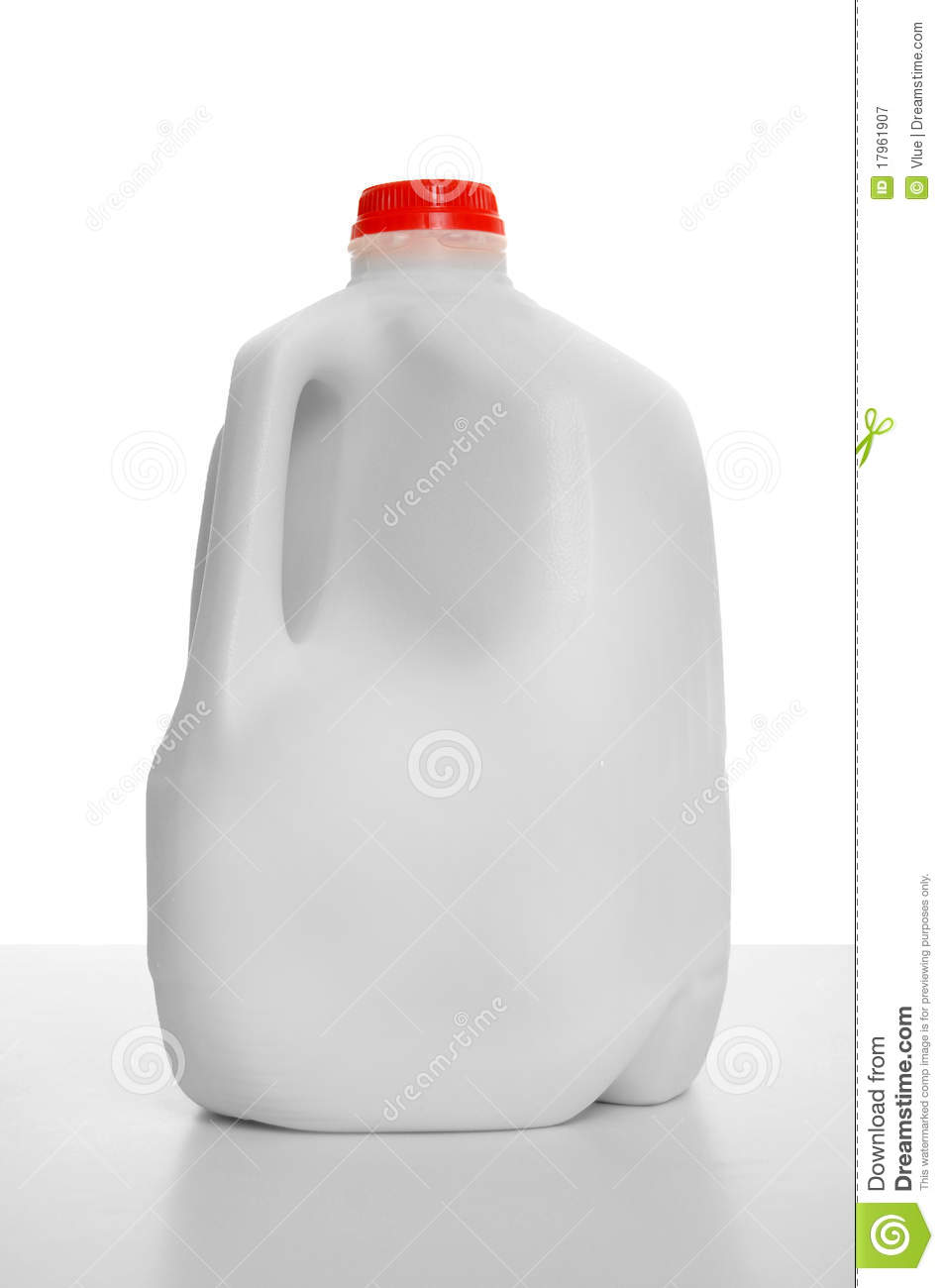 Milk Carton Stock Image Image Of Semi Skimmed Food