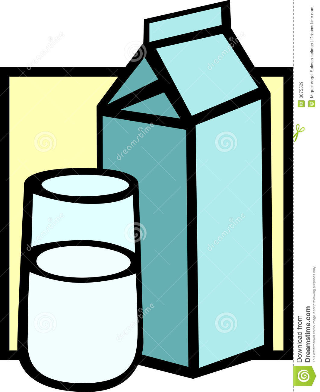 clipart of a glass of milk - photo #36