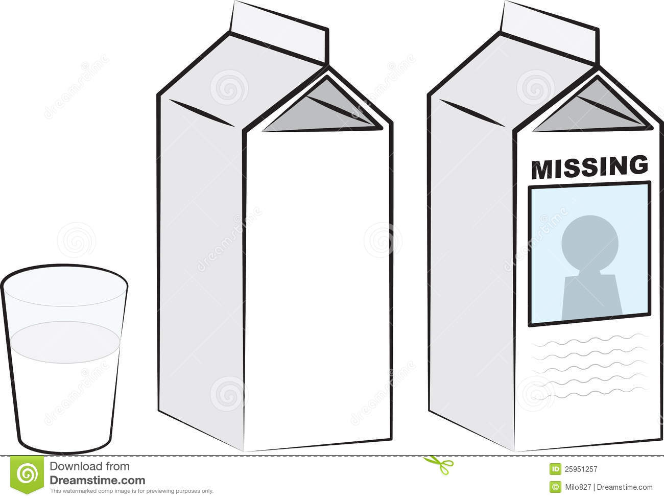 Viewing Gallery For - Milk Carton Missing