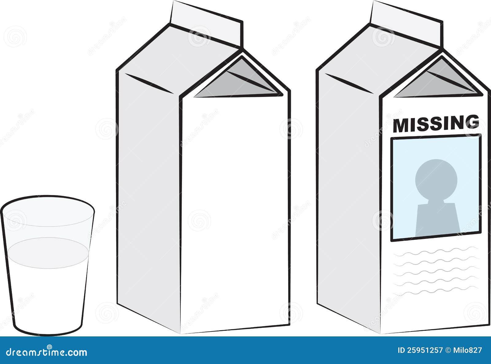 milk carton missing milk cartons