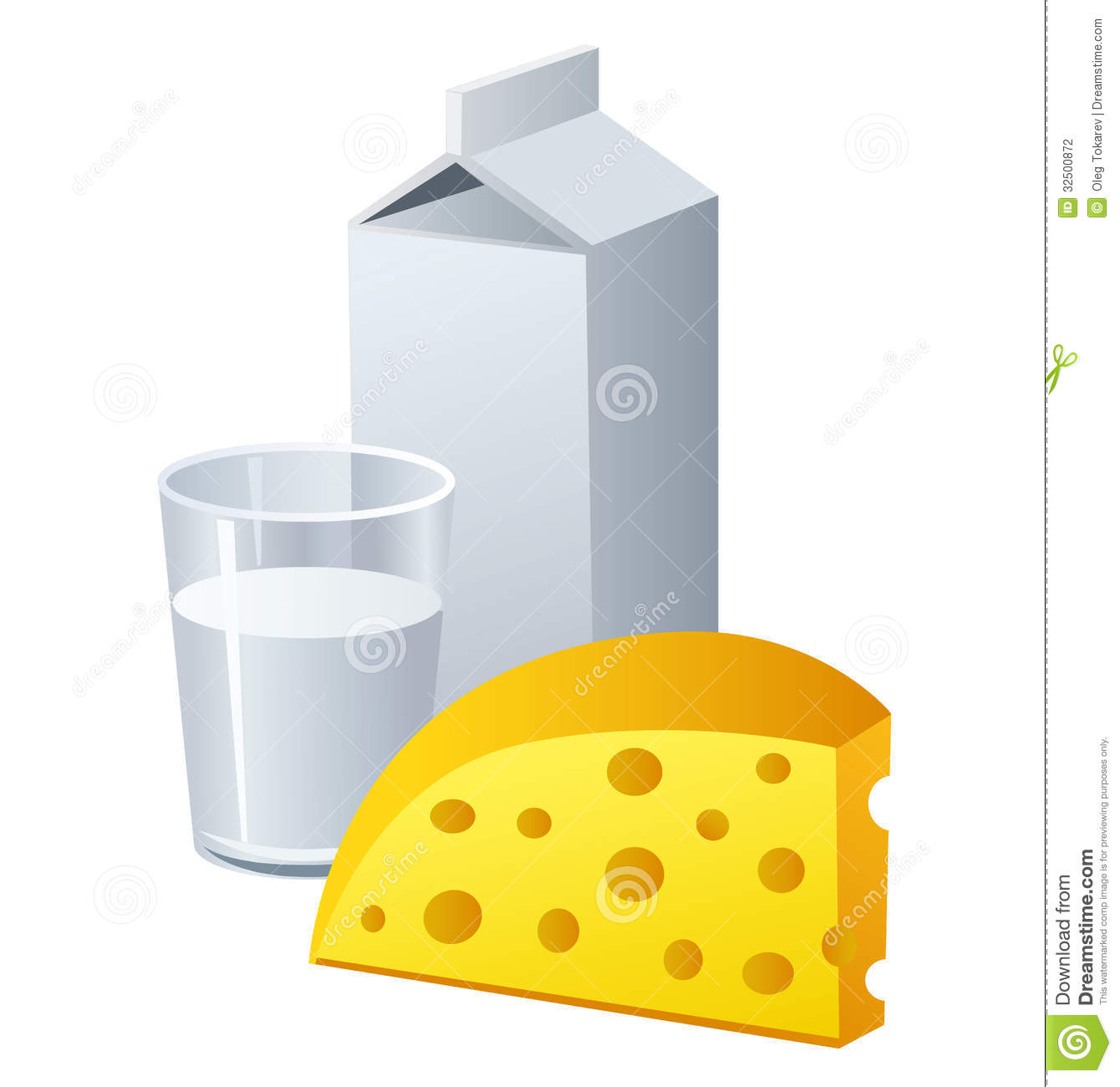 Milk And Cheese Stock Photography - Image: 32500872