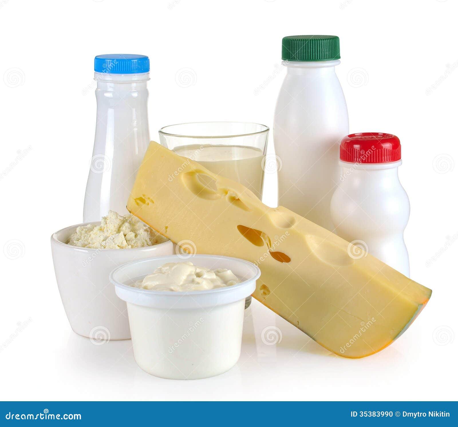 Milk Cheese Yogurt Stock Photo Image 35383990