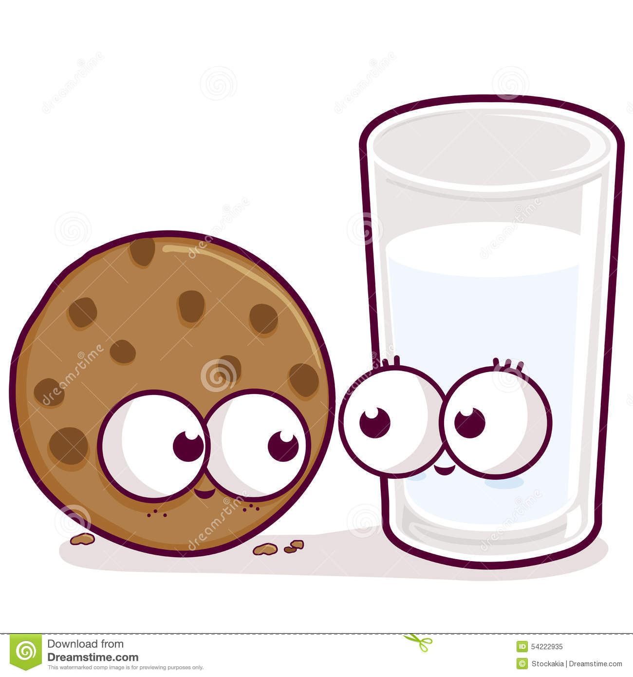 how to eat milk and cookies