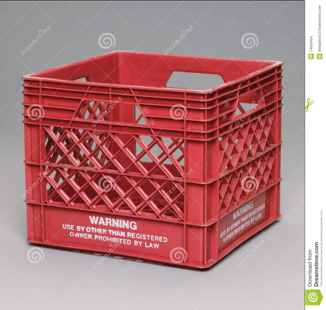Milk Crate Stock Images Image 14925454